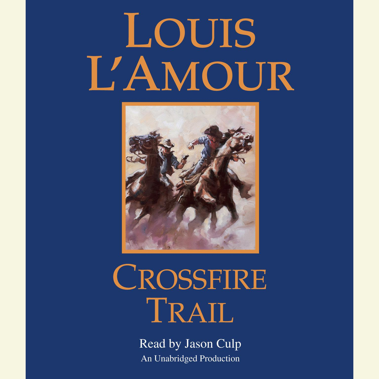 Printable Crossfire Trail Audiobook Cover Art