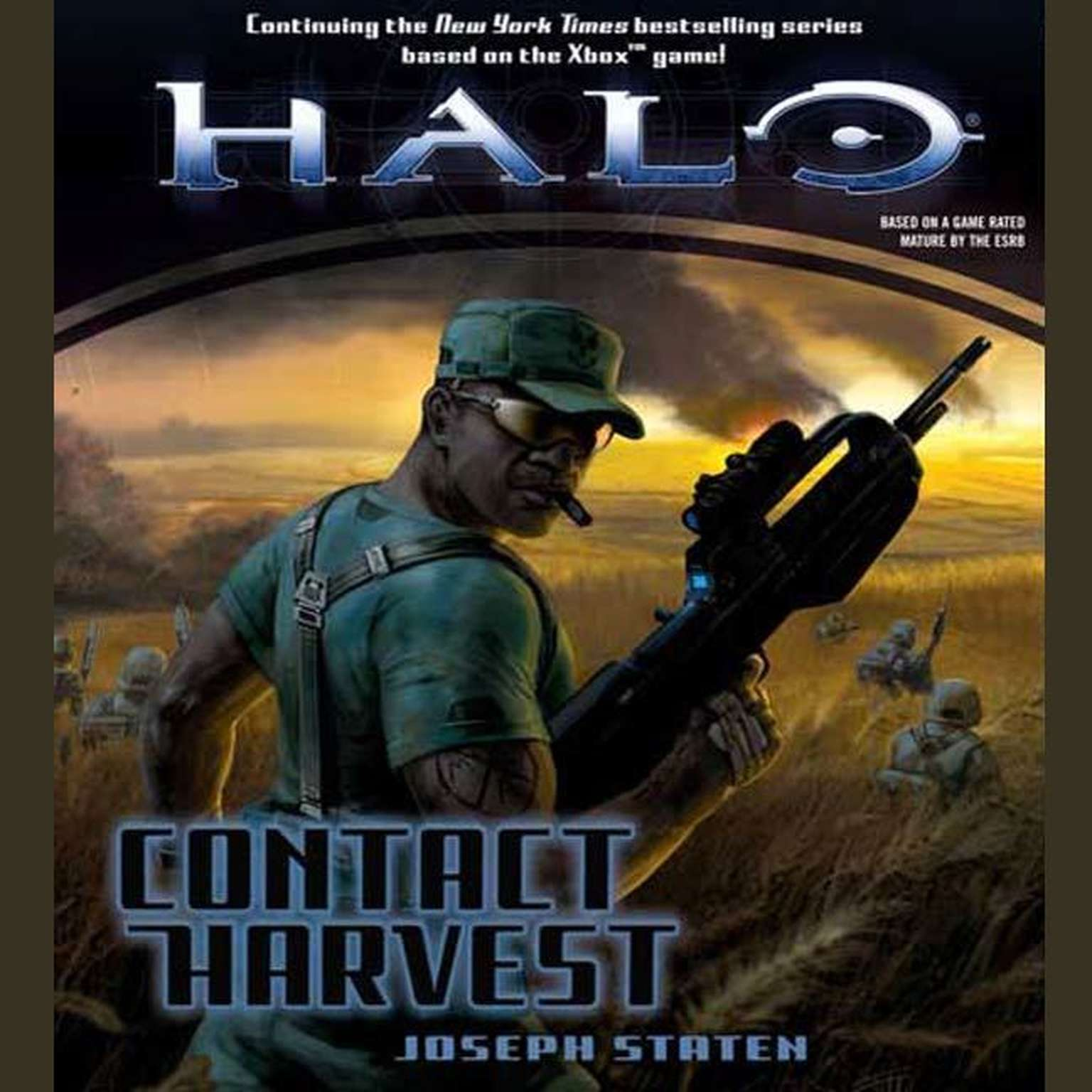 Printable Halo: Contact Harvest Audiobook Cover Art