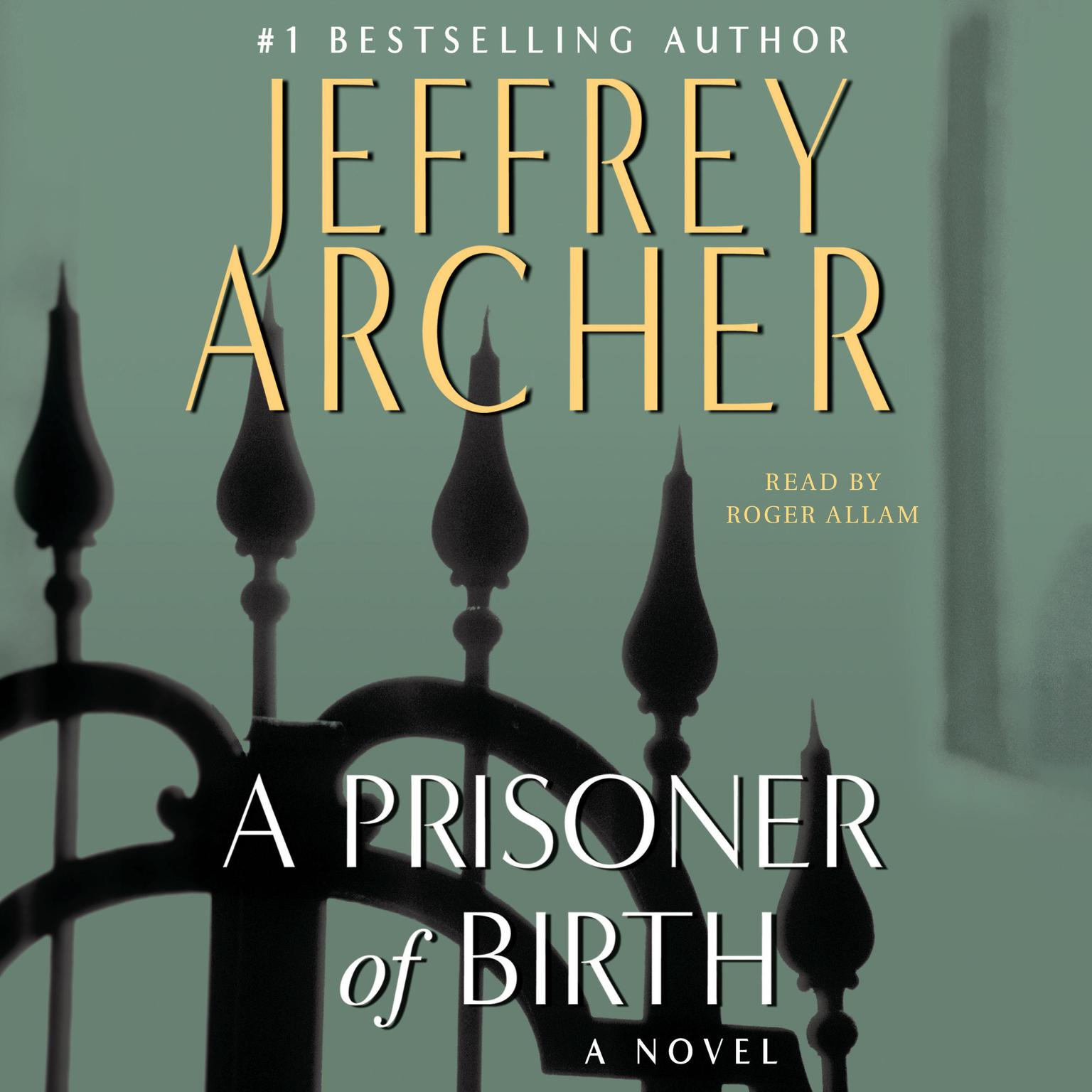 Printable A Prisoner of Birth: A Novel Audiobook Cover Art