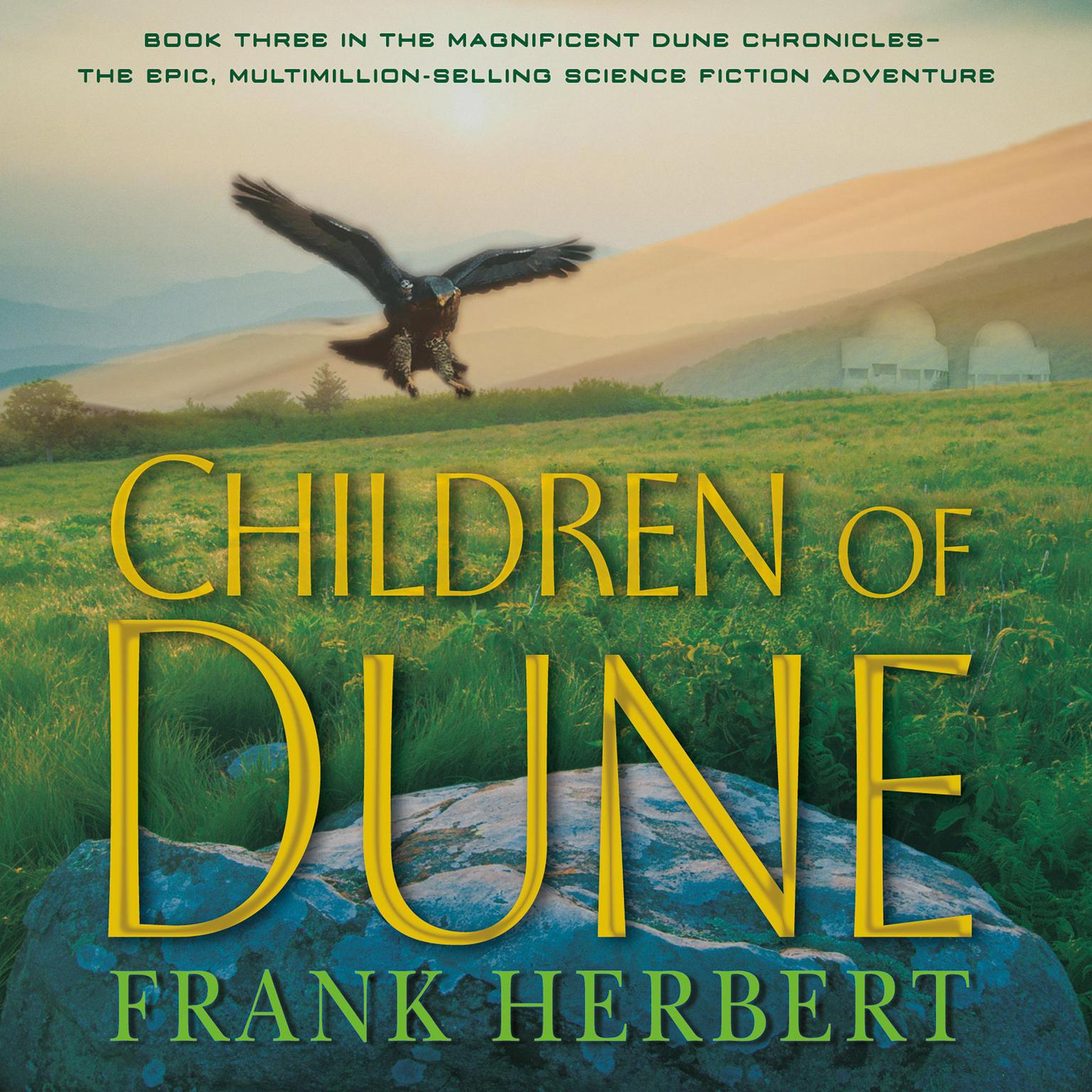 Printable Children of Dune: Book Three in the Dune Chronicles Audiobook Cover Art