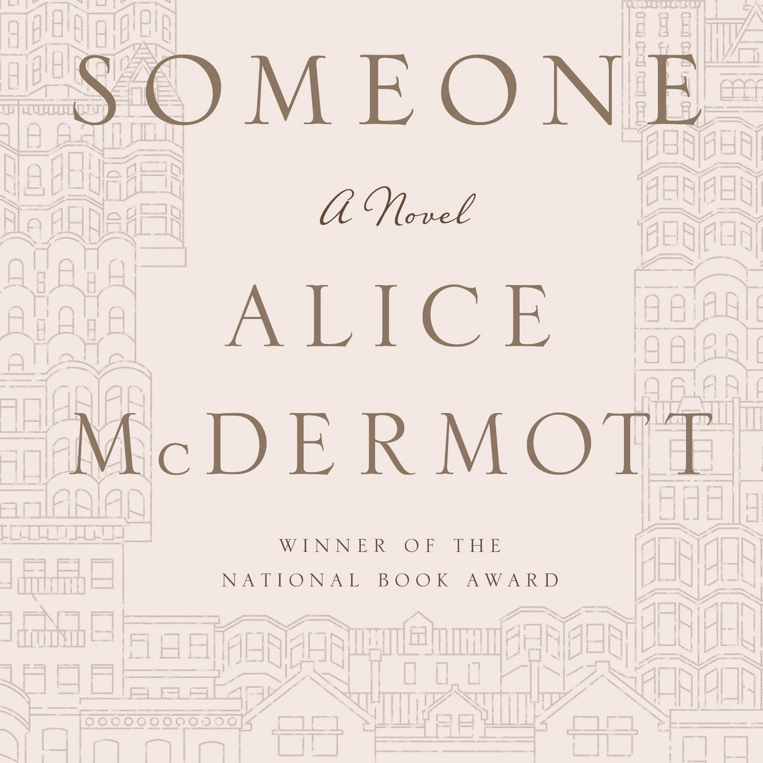 Printable Someone: A Novel Audiobook Cover Art