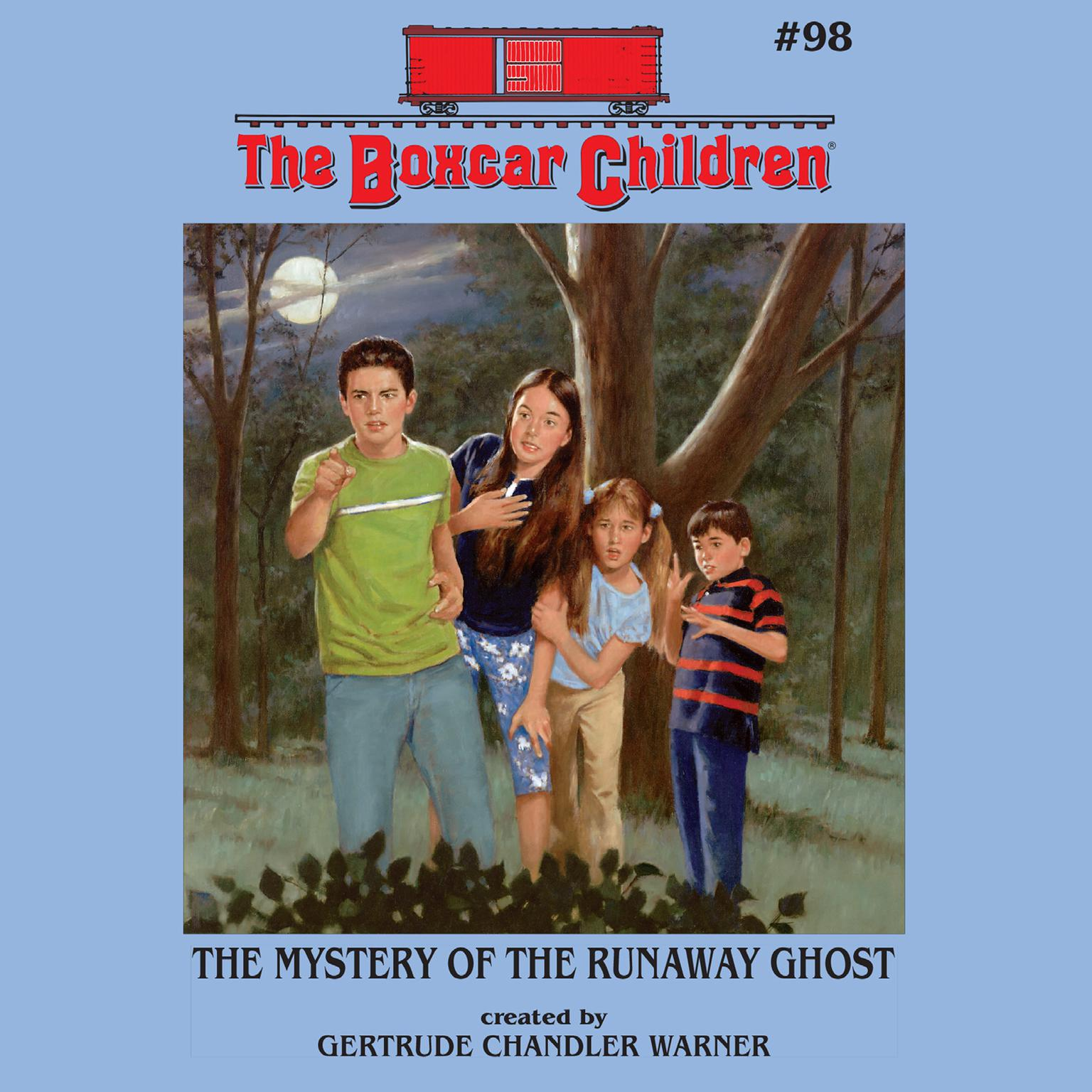 Printable The Mystery of the Runaway Ghost Audiobook Cover Art