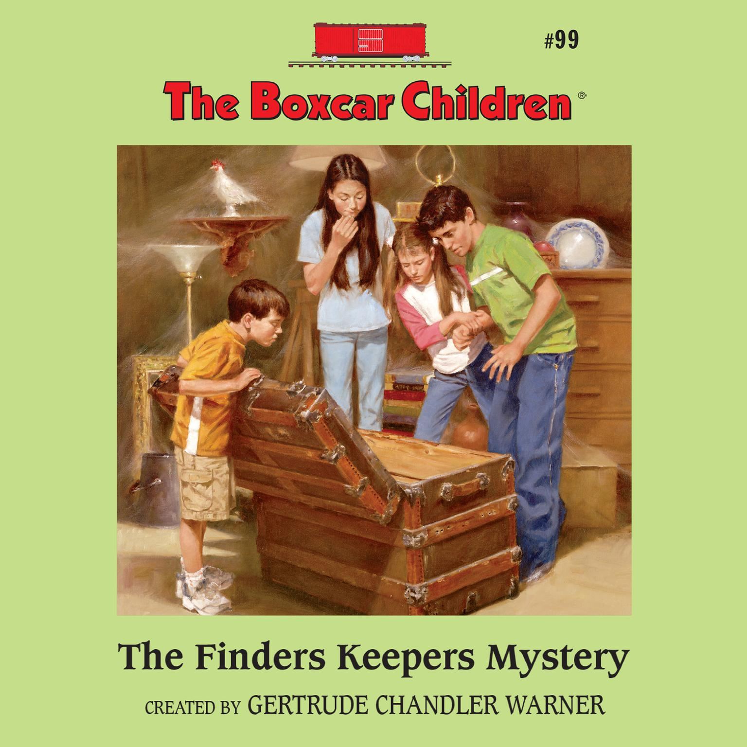 Printable The Finders Keepers Mystery Audiobook Cover Art