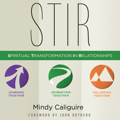 STIR: Spiritual Transformation in Relationships Audiobook, by Mindy Caliguire
