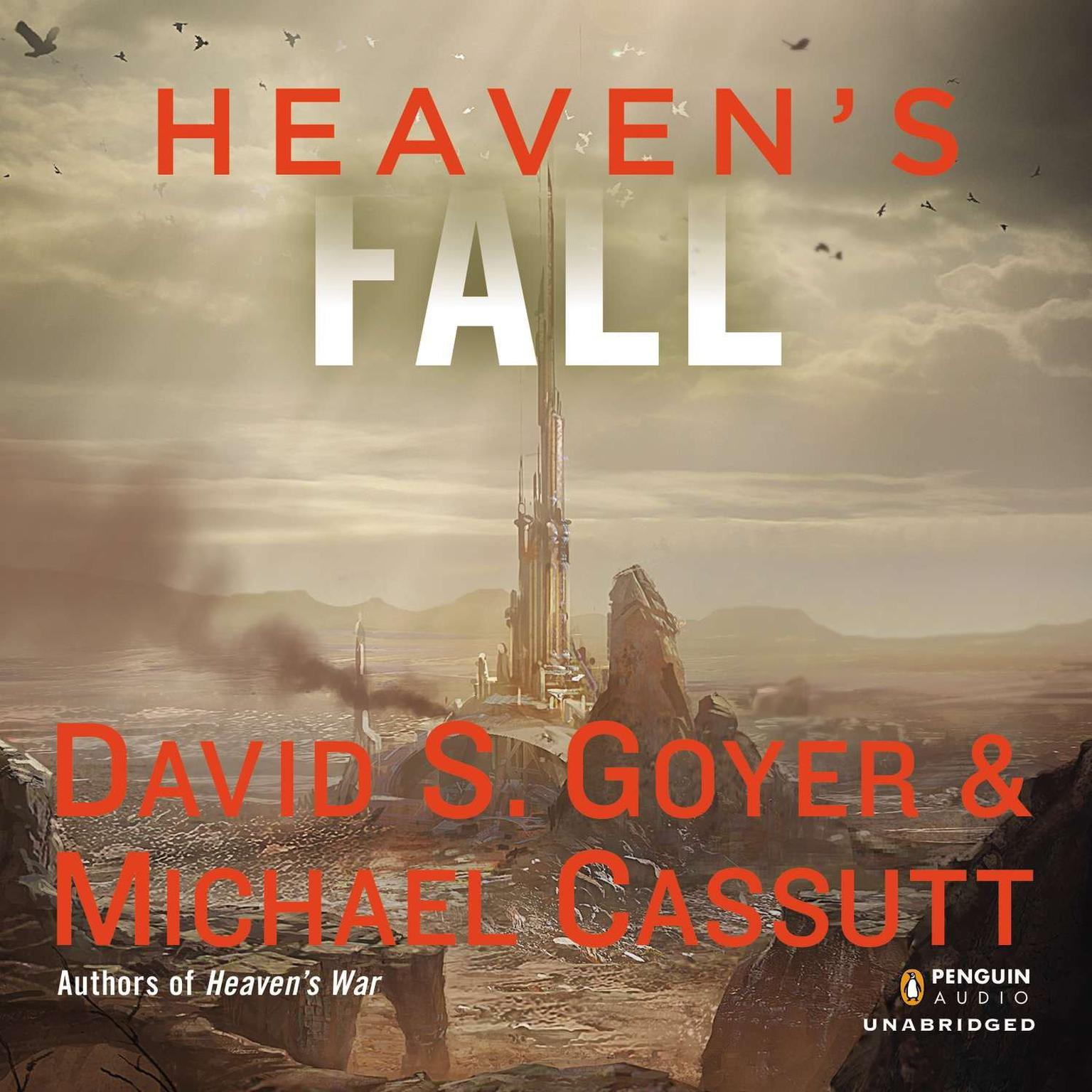 Printable Heaven's Fall Audiobook Cover Art
