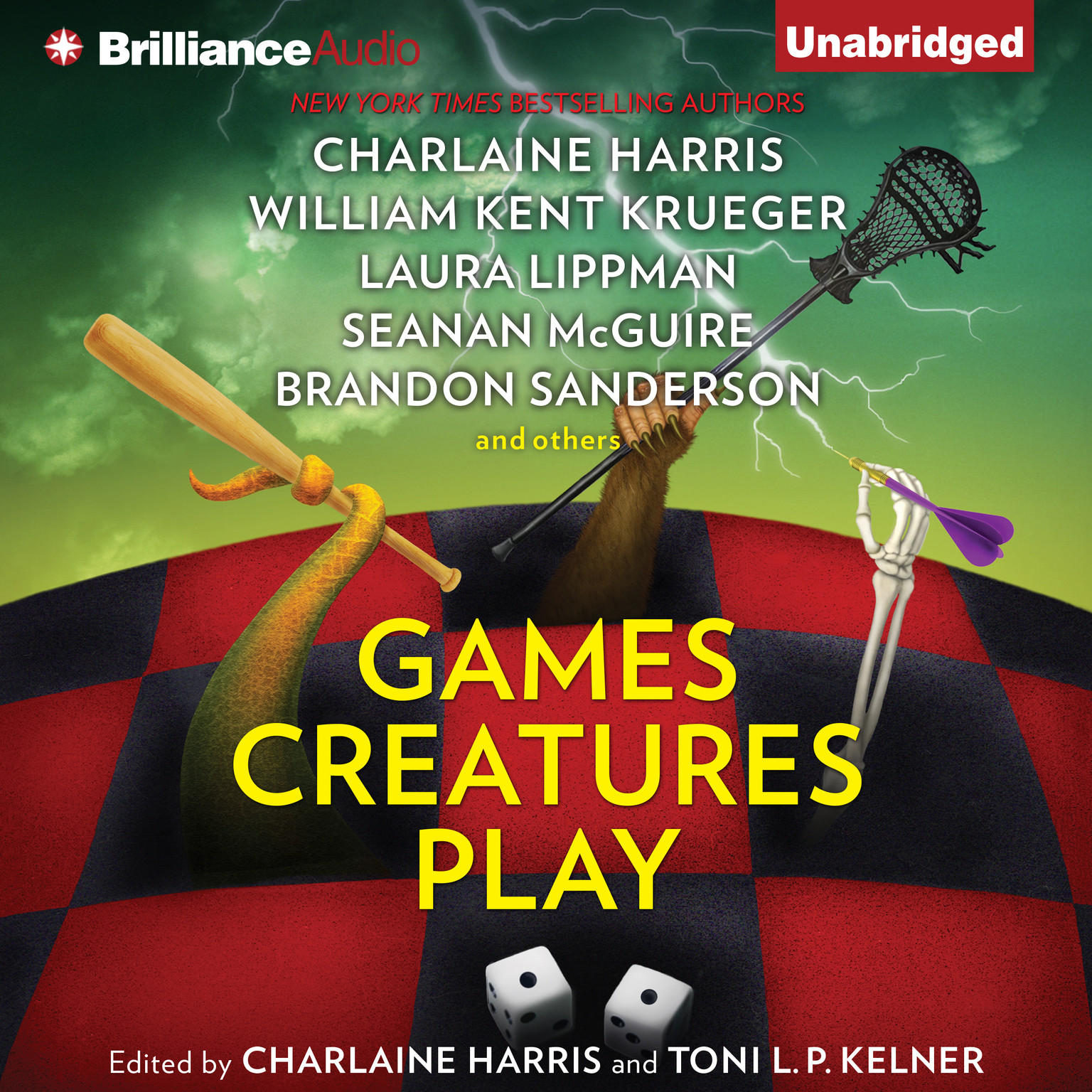 Printable Games Creatures Play Audiobook Cover Art