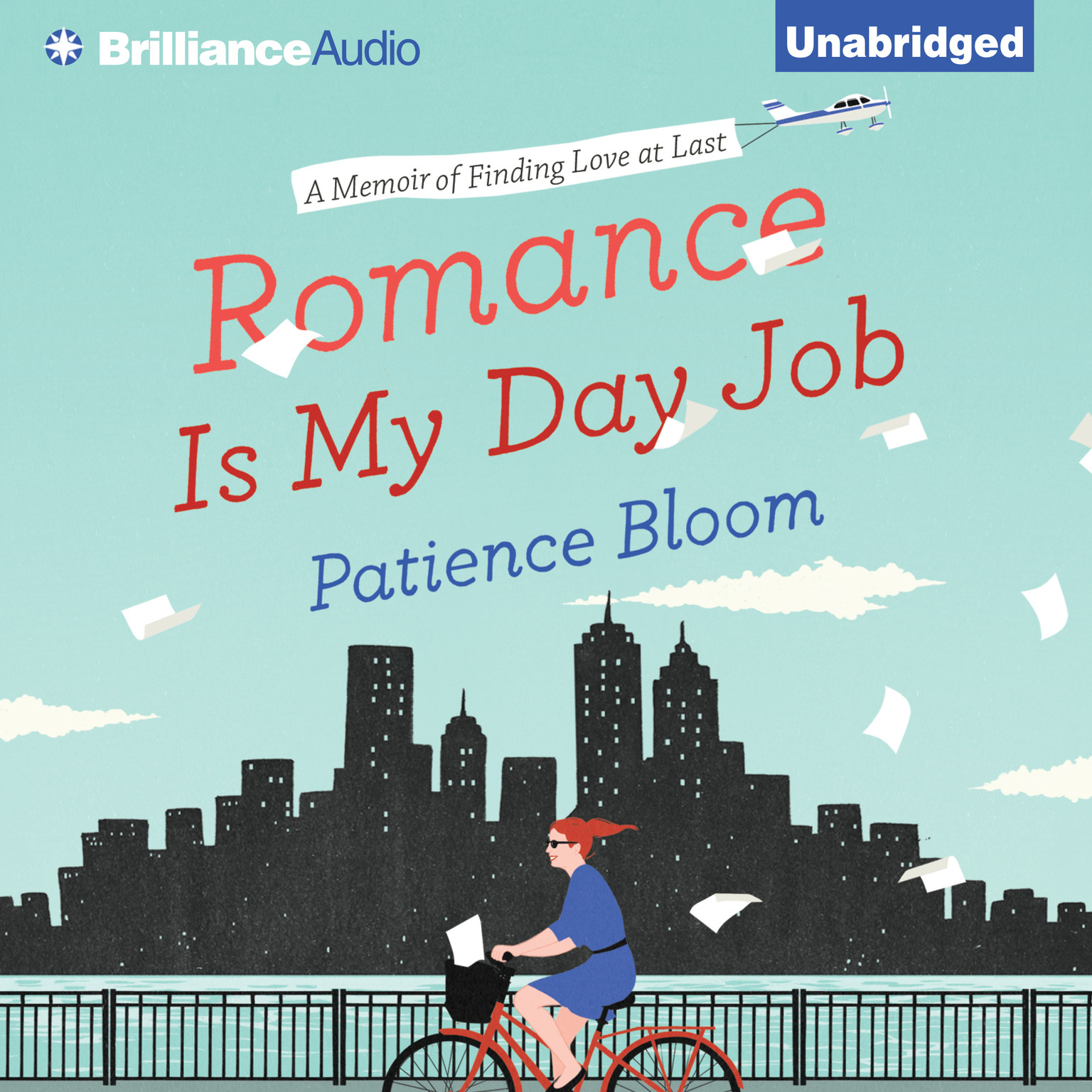 Printable Romance Is My Day Job: A Memoir of Finding Love at Last Audiobook Cover Art
