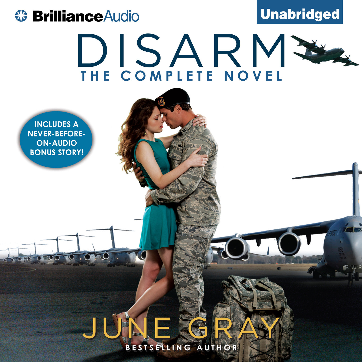 Disarm: The Complete Novel Audiobook, by June Gray