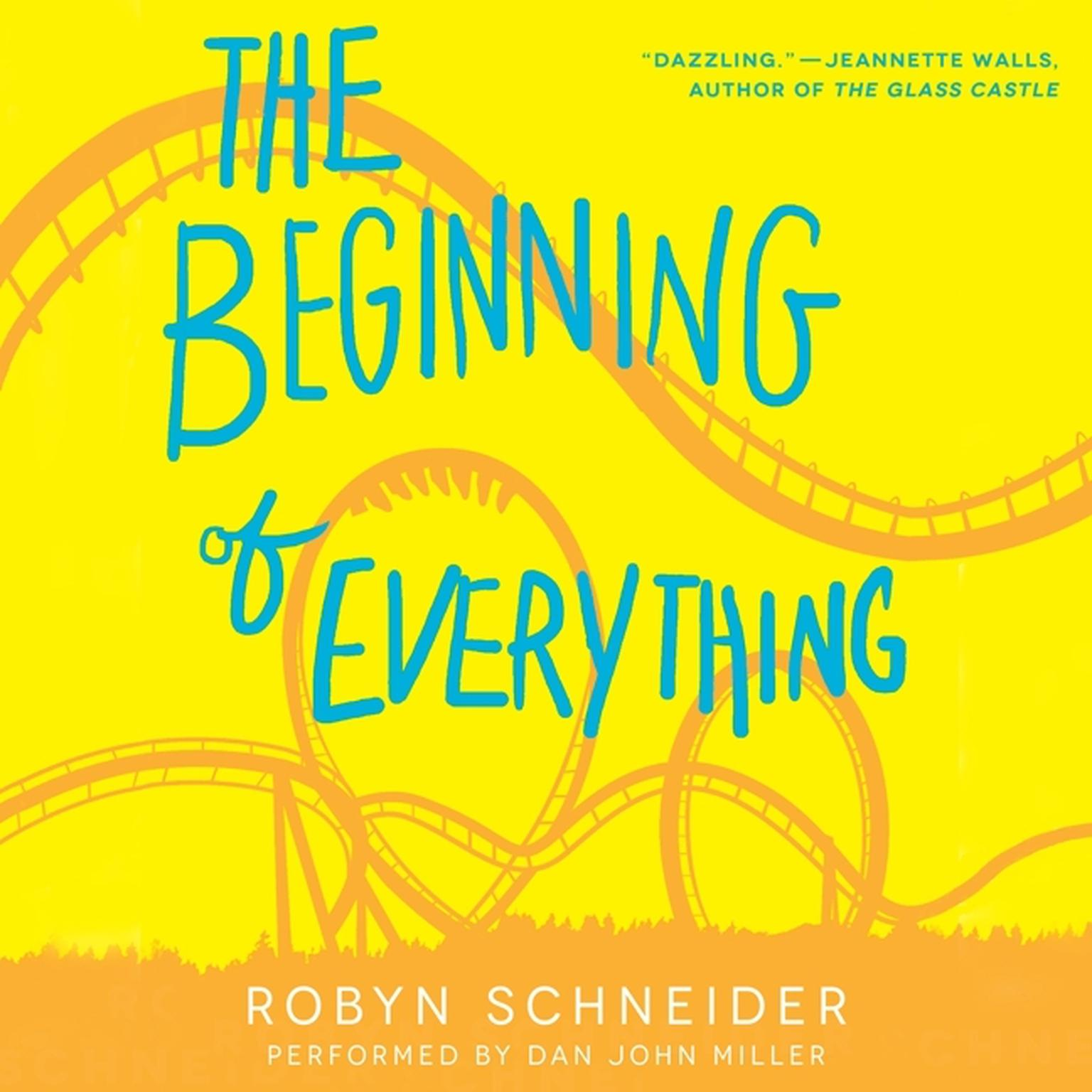 Printable The Beginning of Everything Audiobook Cover Art