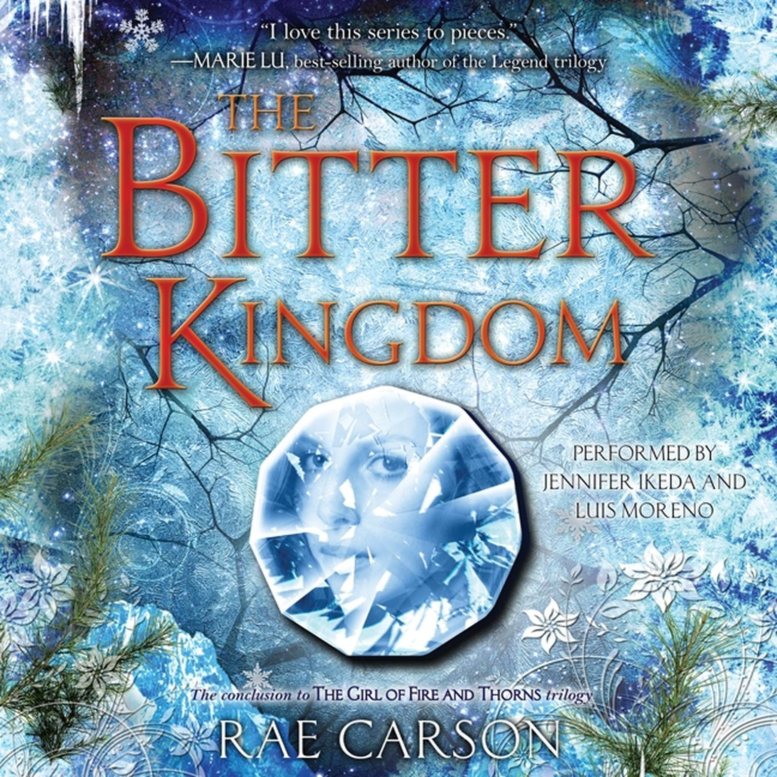 Printable The Bitter Kingdom Audiobook Cover Art