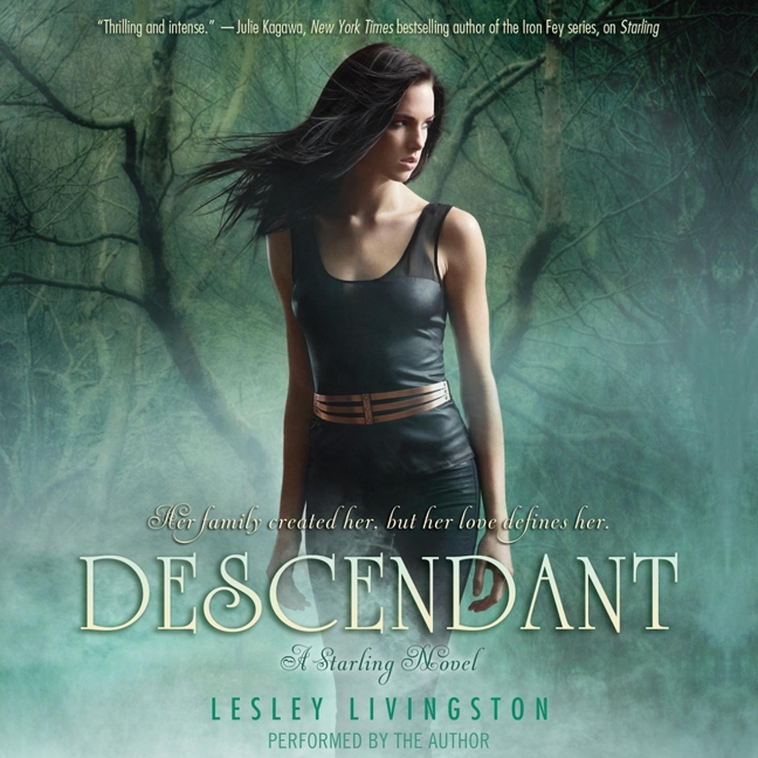 Printable Descendant: A Starling Novel Audiobook Cover Art
