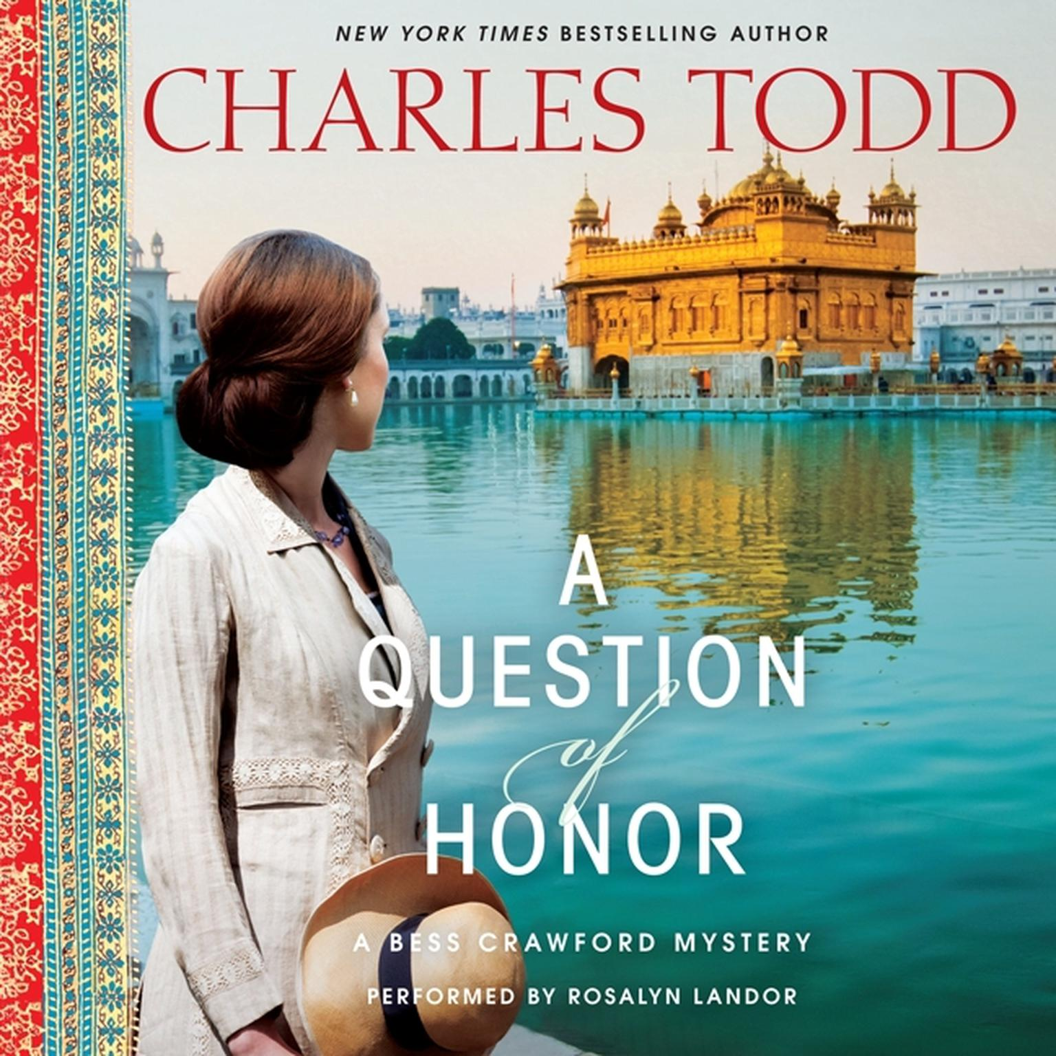 Printable A Question of Honor: A Bess Crawford Mystery Audiobook Cover Art