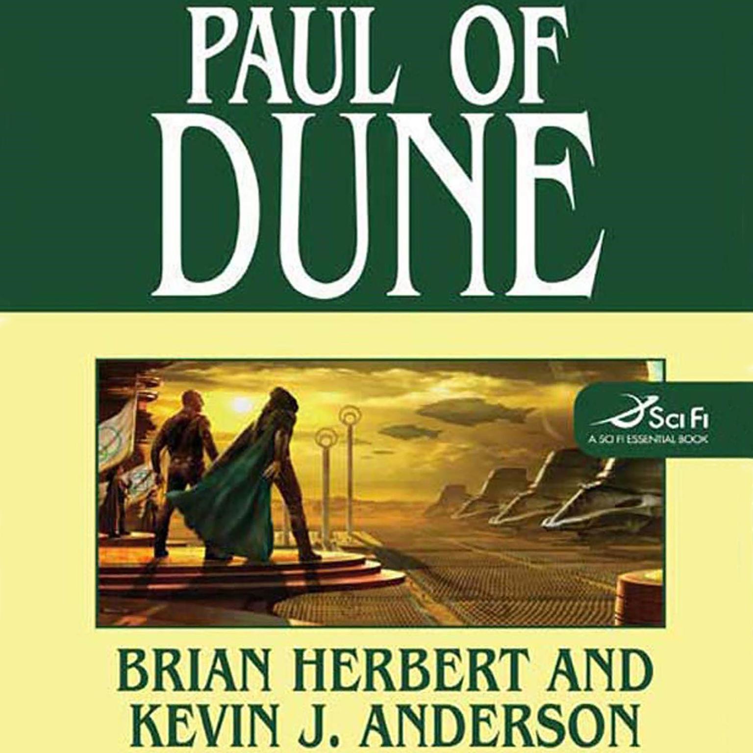 Printable Paul of Dune Audiobook Cover Art