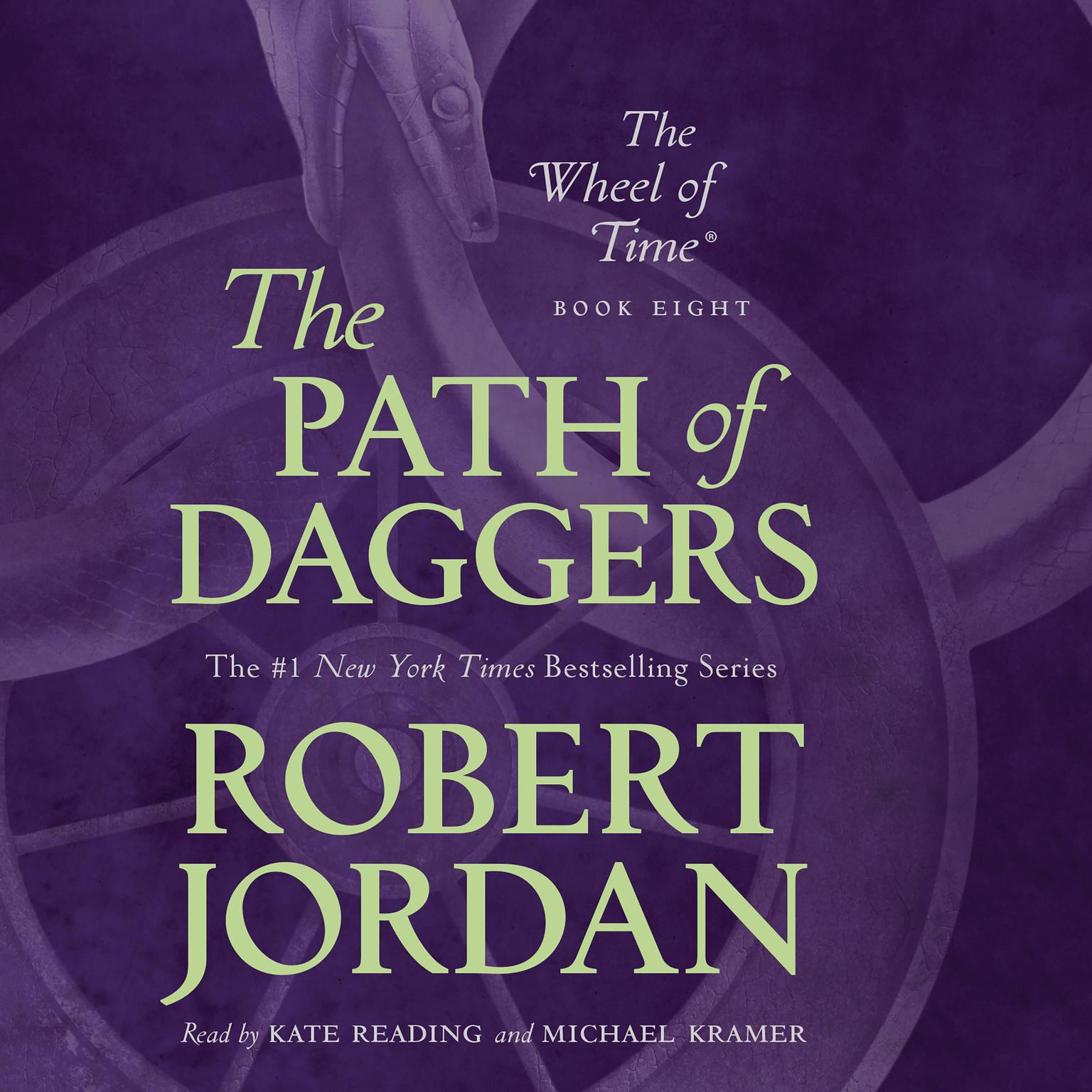 Printable The Path of Daggers: Book Eight of 'The Wheel of Time' Audiobook Cover Art