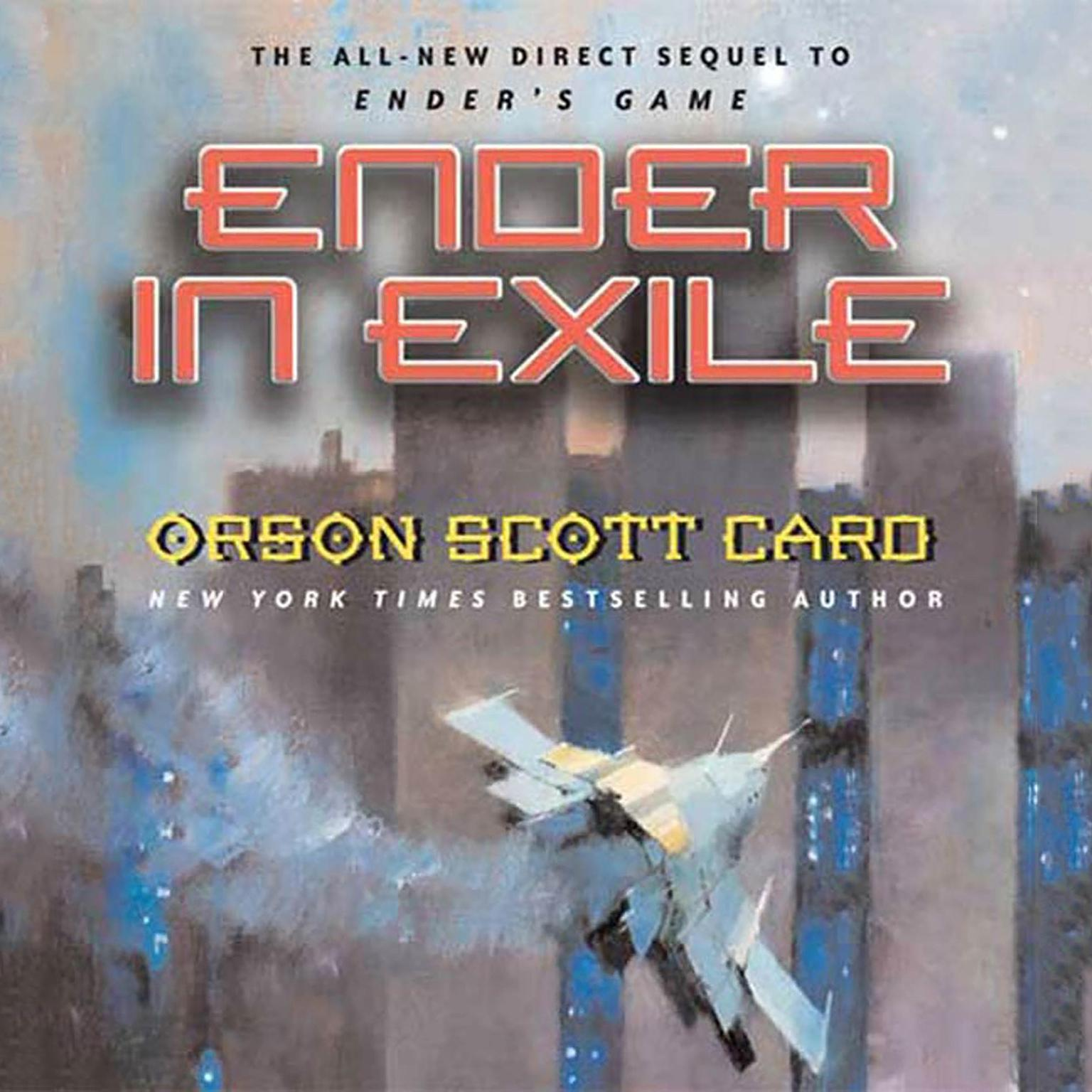 Printable Ender in Exile: Limited Edition Audiobook Cover Art