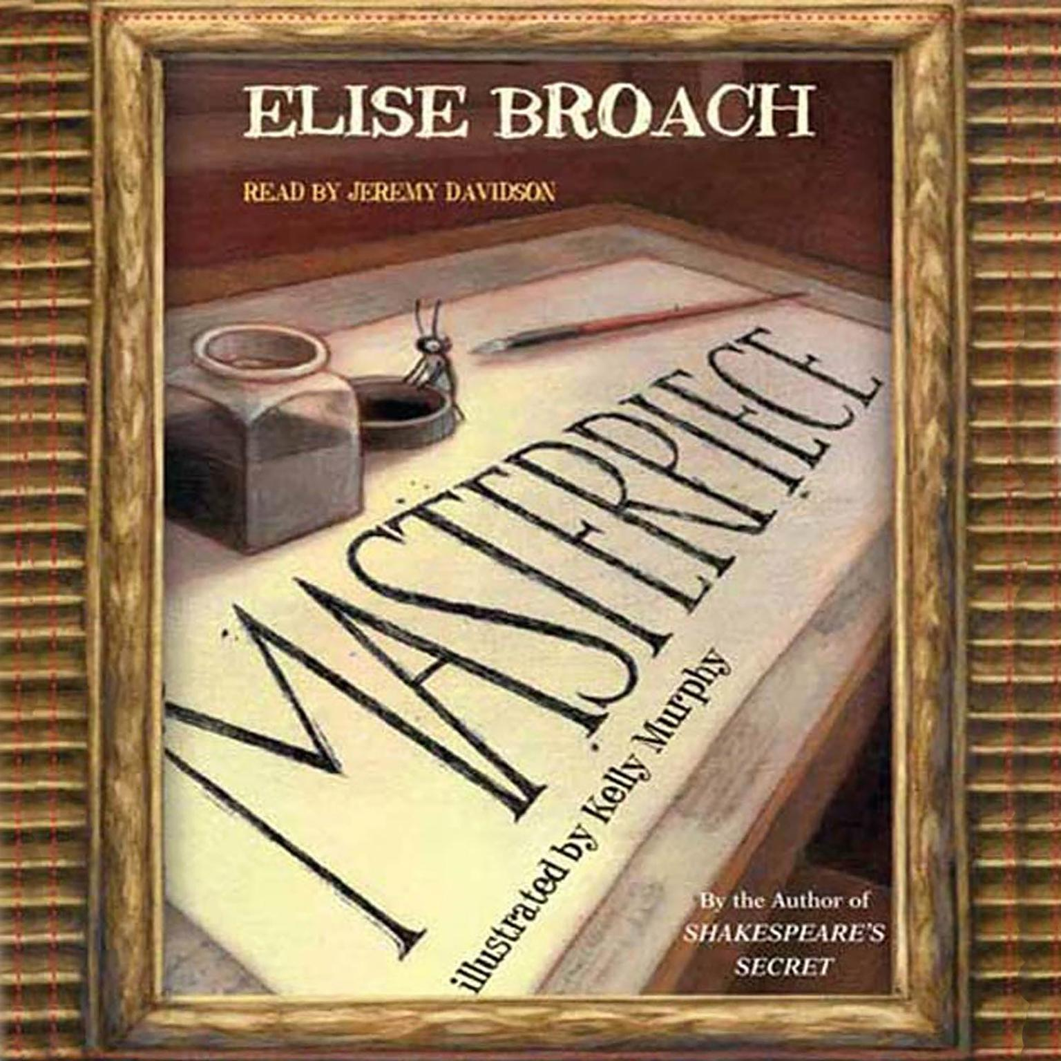 Printable Masterpiece Audiobook Cover Art