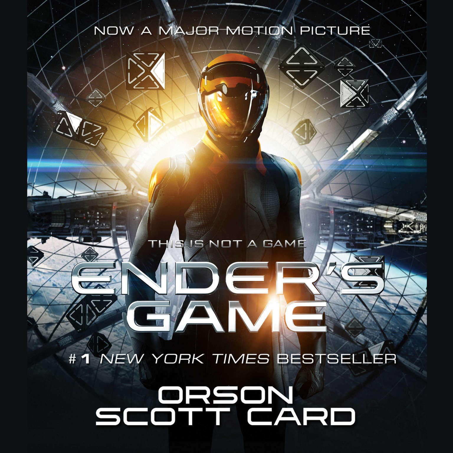 Printable Ender's Game Audiobook Cover Art