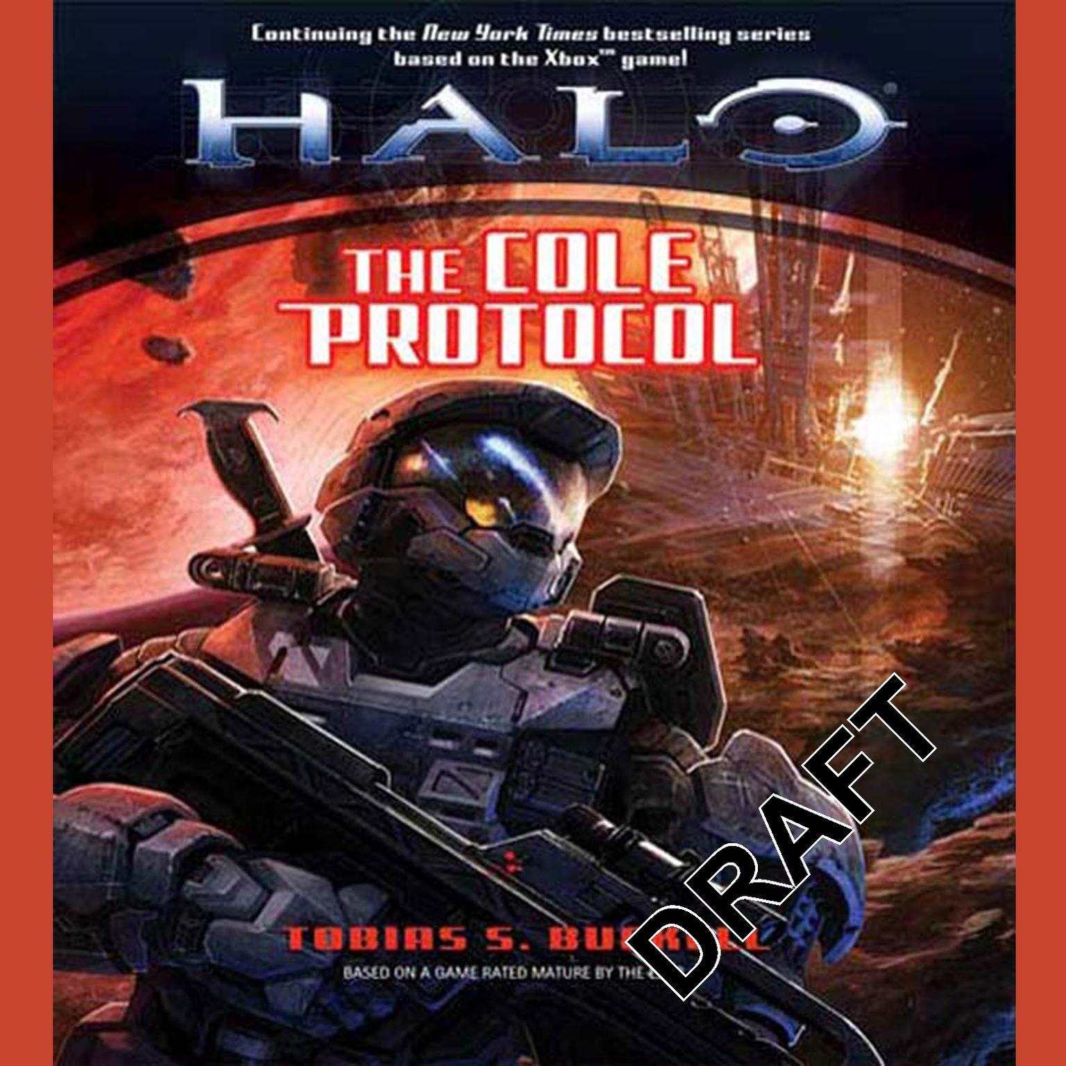 Printable Halo: The Cole Protocol: The Cole Protocol Audiobook Cover Art