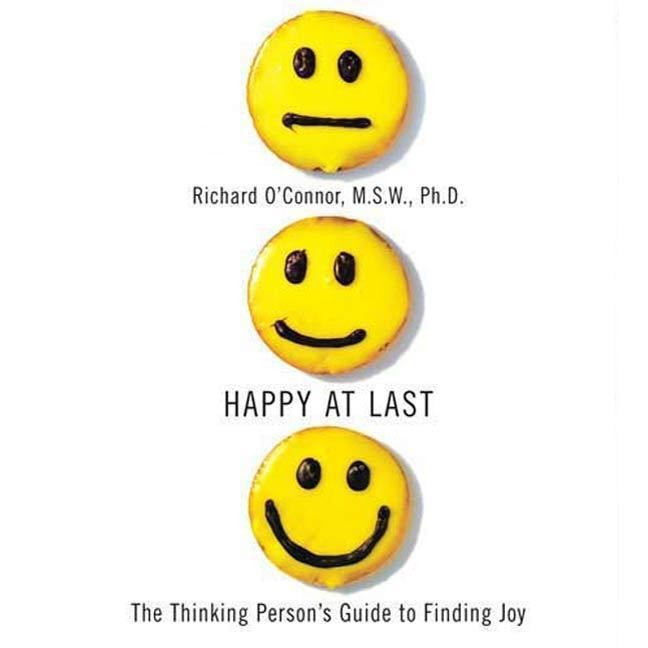 Printable Happy at Last: The Thinking Person's Guide to Finding Joy Audiobook Cover Art