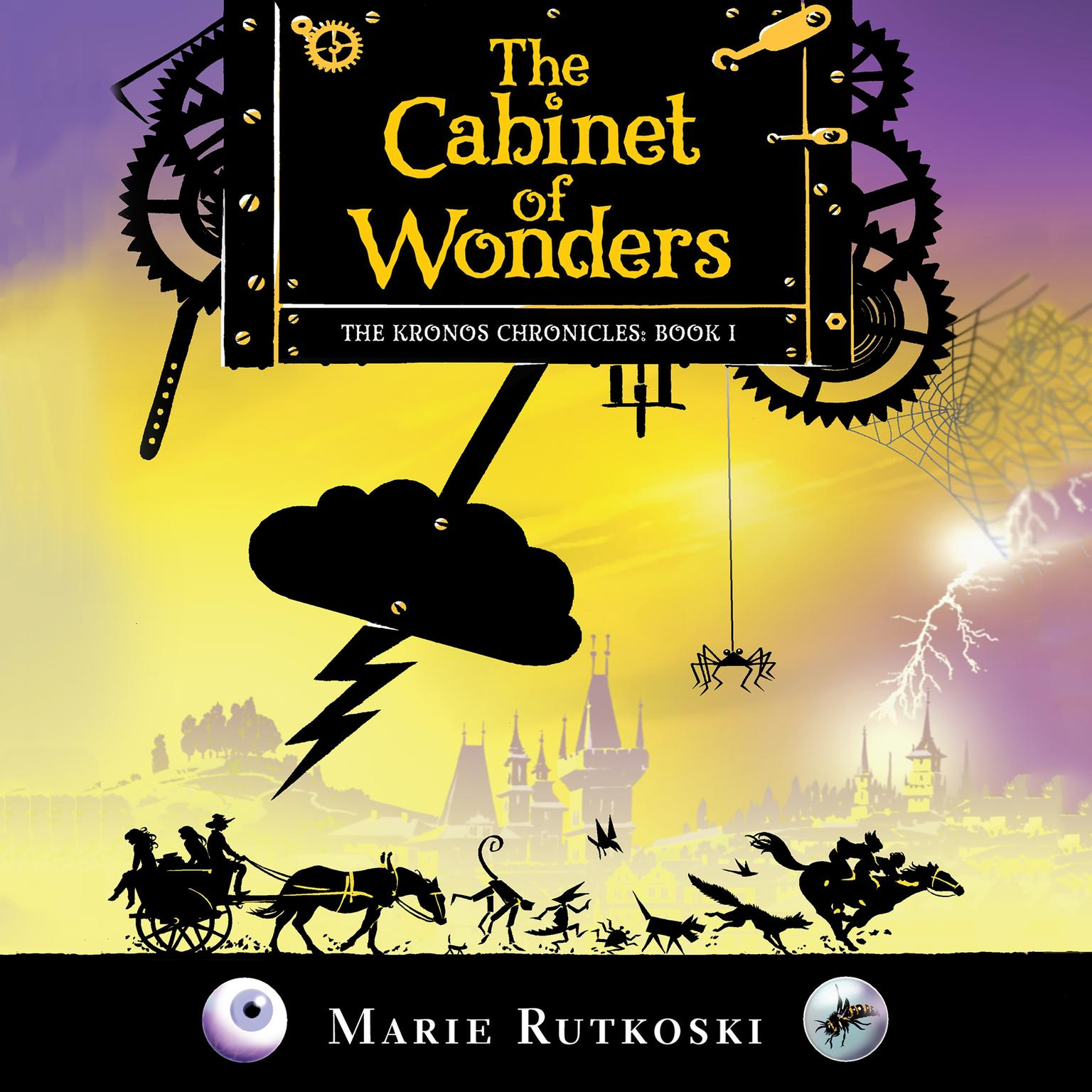 Printable The Cabinet of Wonders: The Kronos Chronicles: Book I Audiobook Cover Art