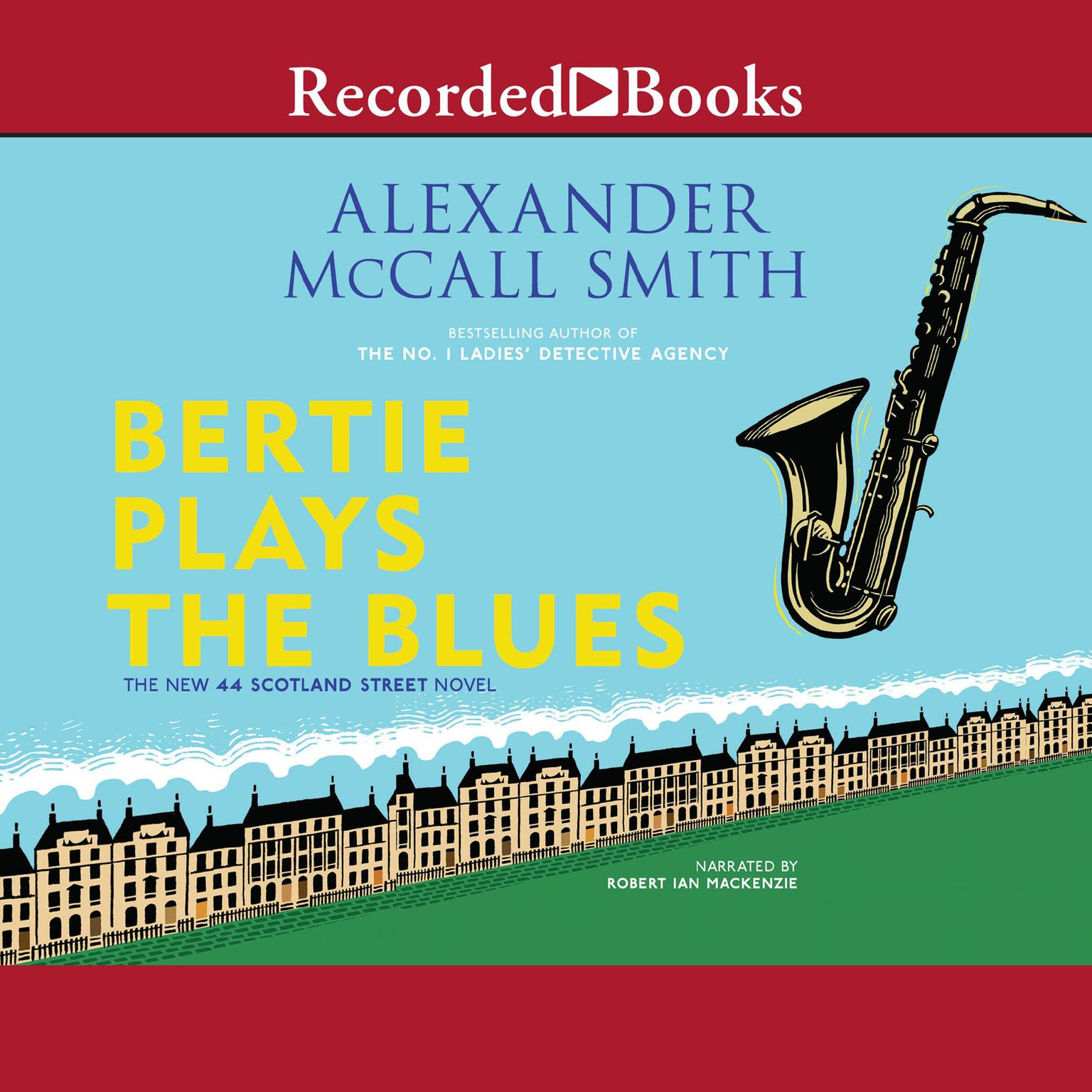 Printable Bertie Plays the Blues Audiobook Cover Art