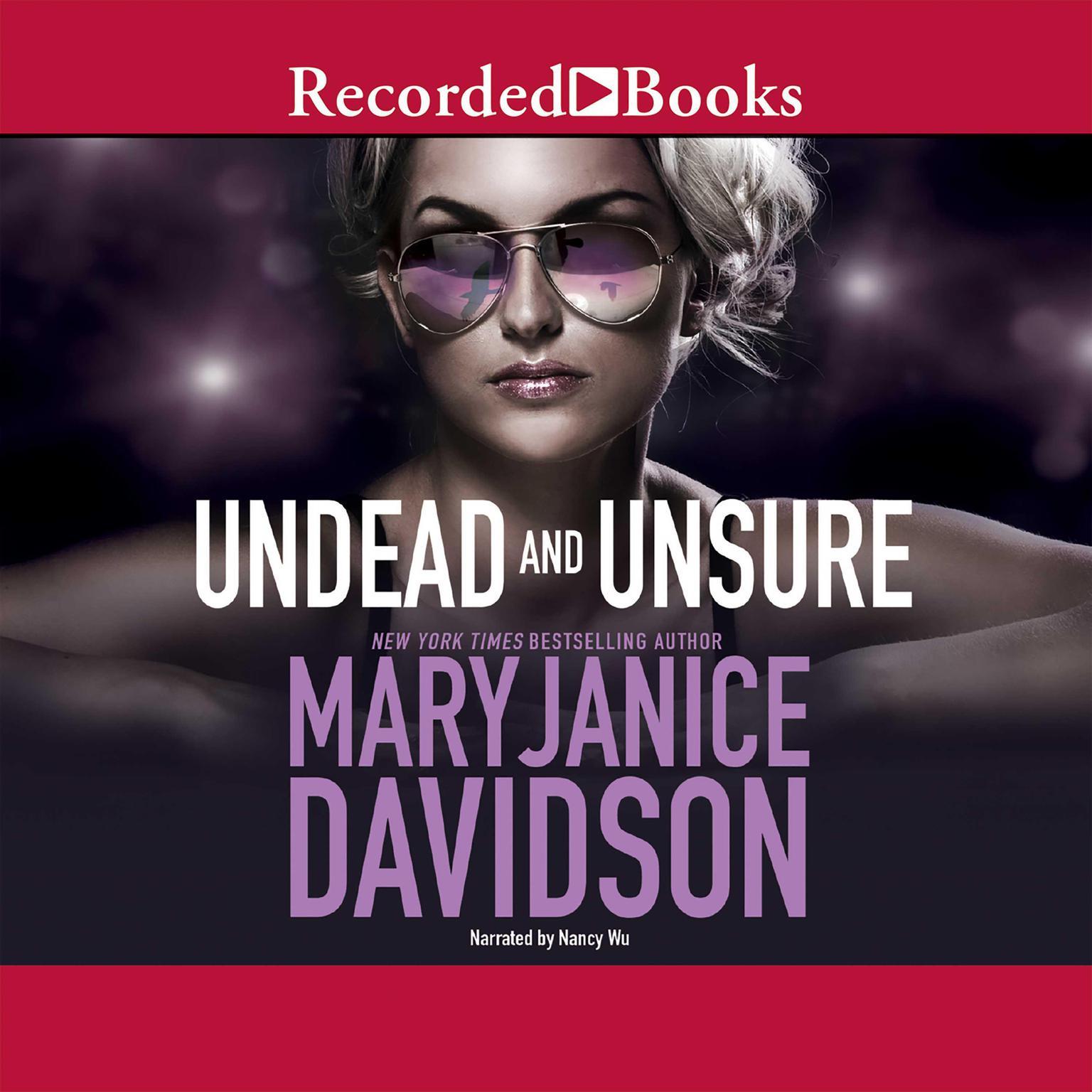 Printable Undead and Unsure Audiobook Cover Art