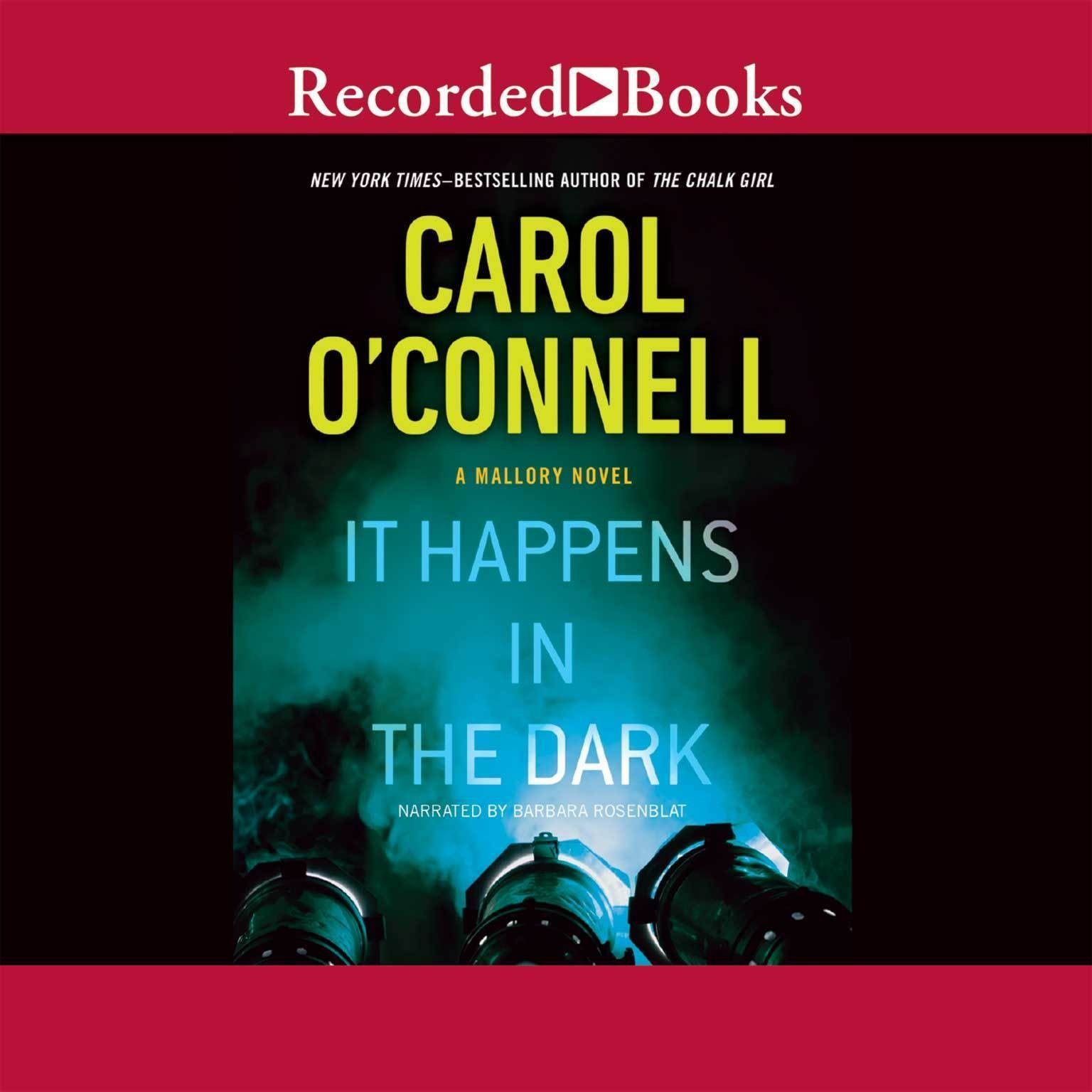 Printable It Happens in the Dark Audiobook Cover Art