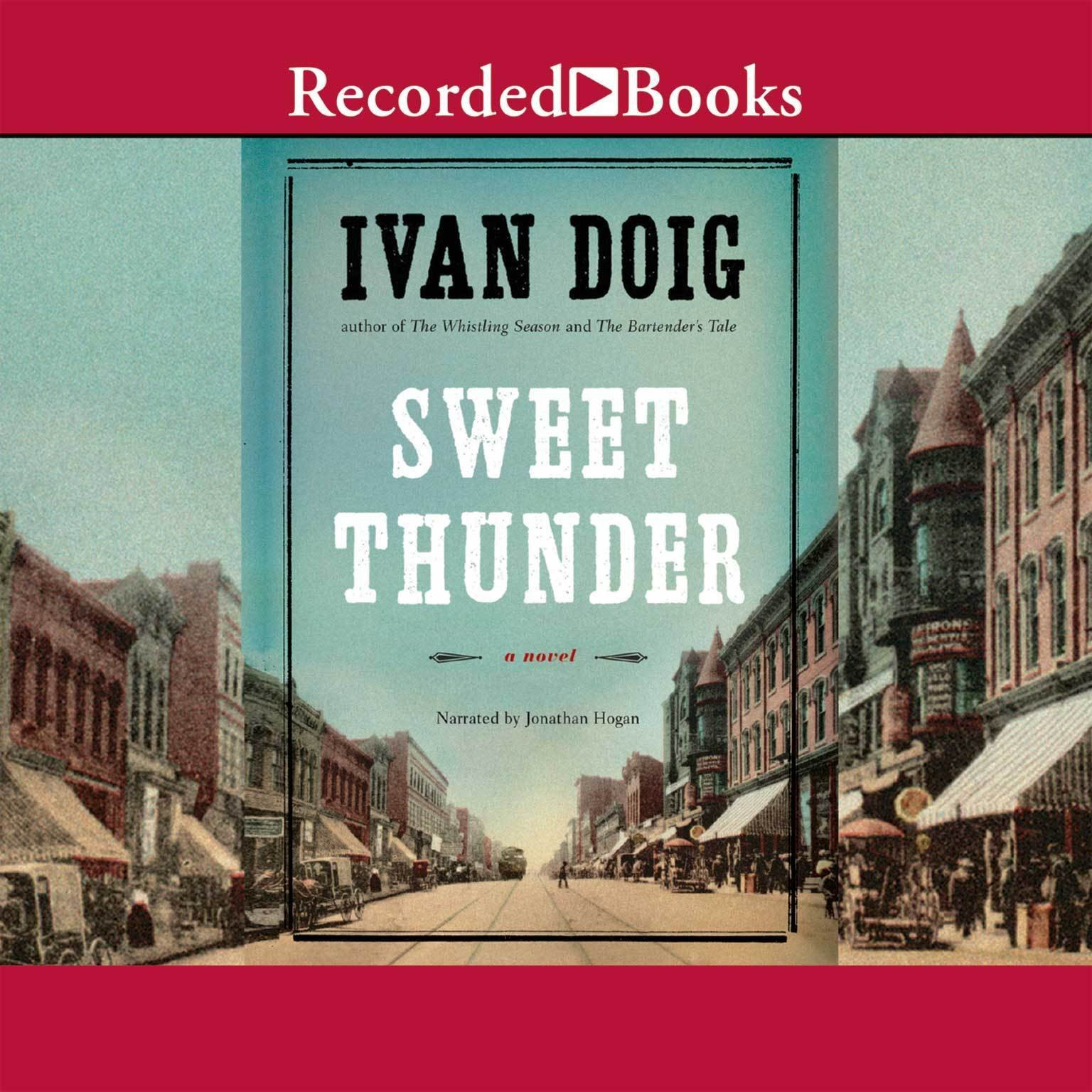 Printable Sweet Thunder: A Novel Audiobook Cover Art