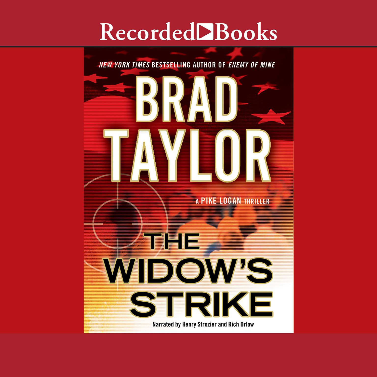 Printable The Widow's Strike Audiobook Cover Art