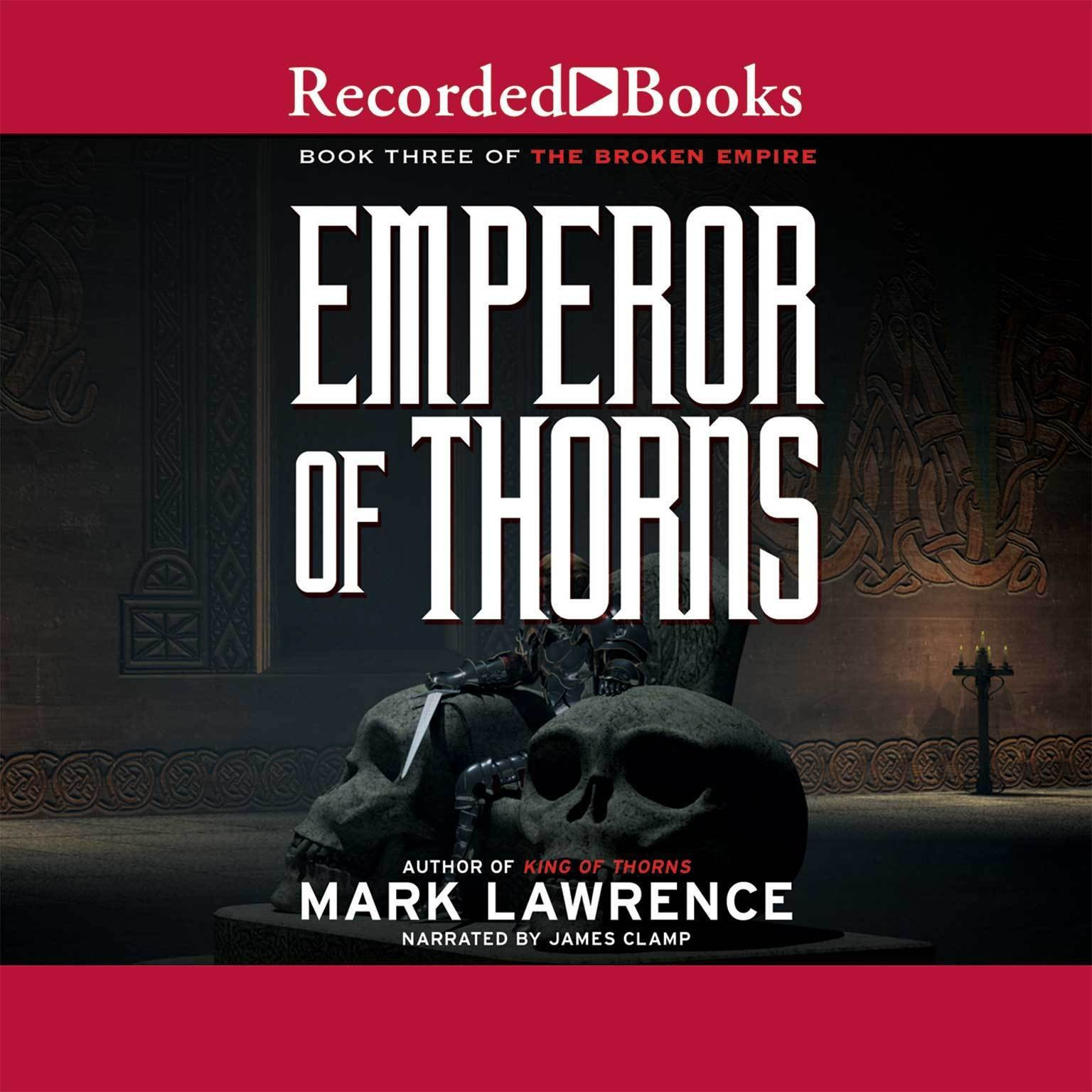 Printable Emperor of Thorns Audiobook Cover Art