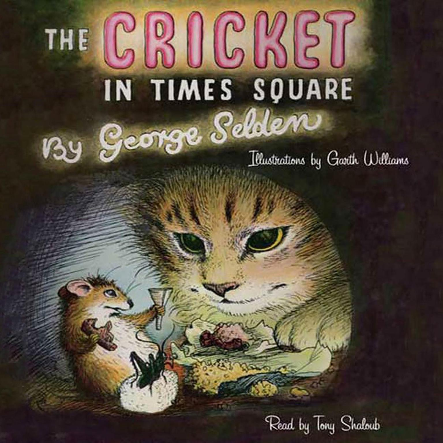 Printable The Cricket in Times Square Audiobook Cover Art