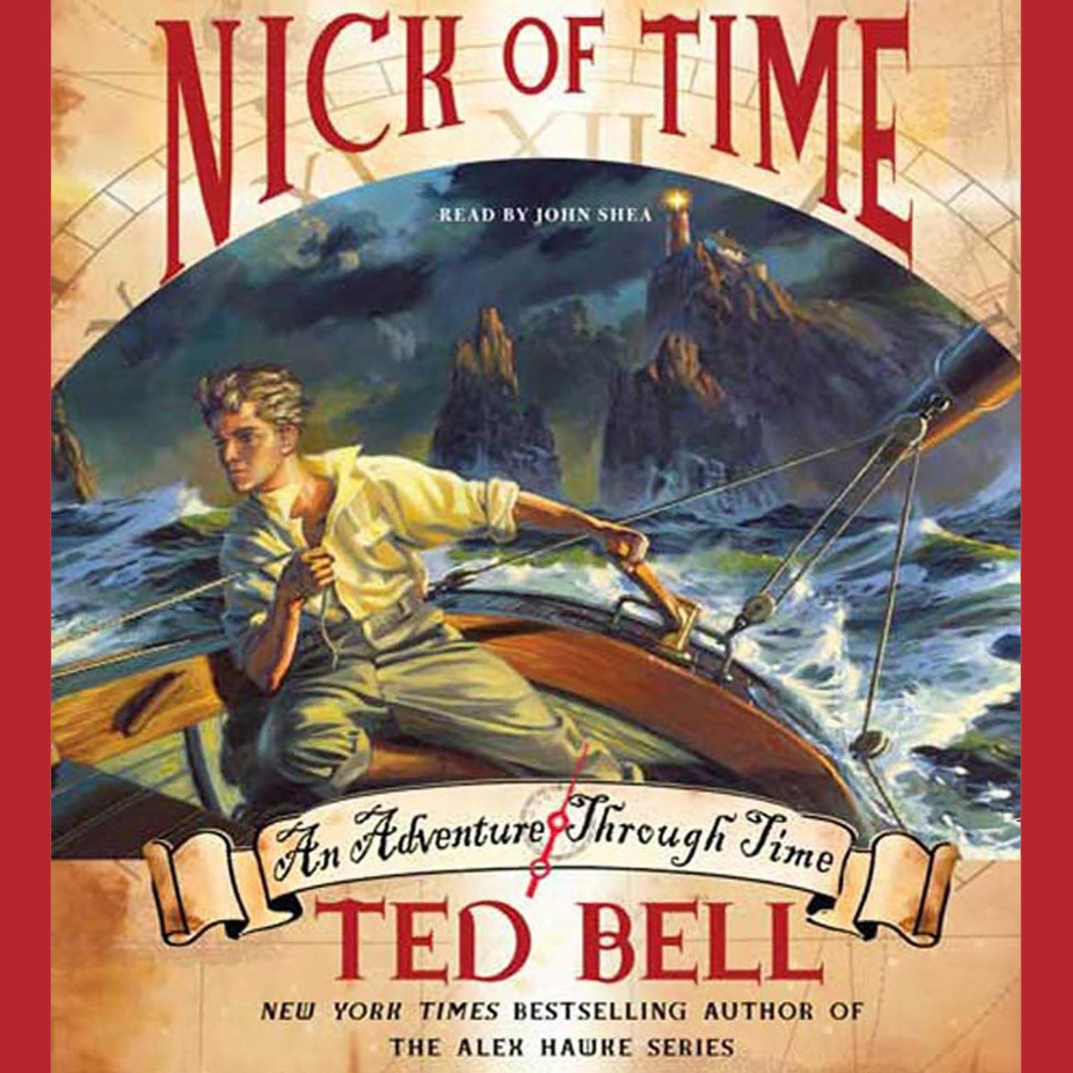 Printable Nick of Time Audiobook Cover Art
