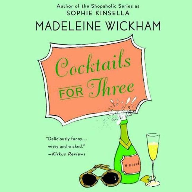 Printable Cocktails for Three Audiobook Cover Art
