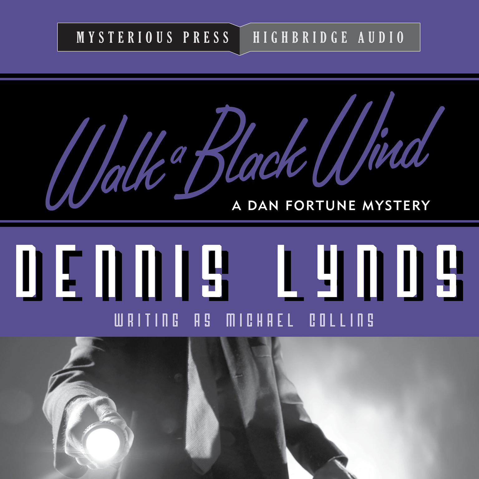 Printable Walk a Black Wind: A Dan Fortune Mystery Audiobook Cover Art