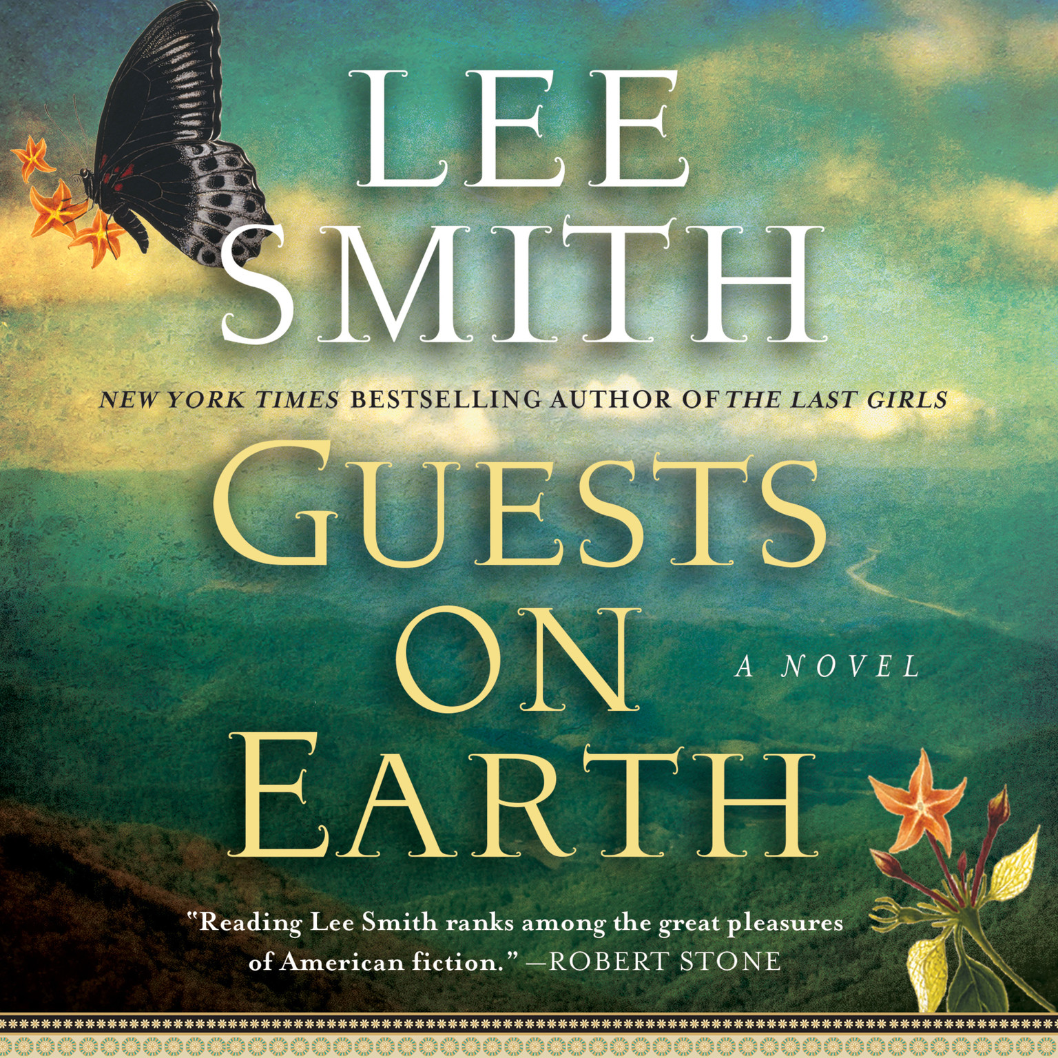 Printable Guests on Earth Audiobook Cover Art