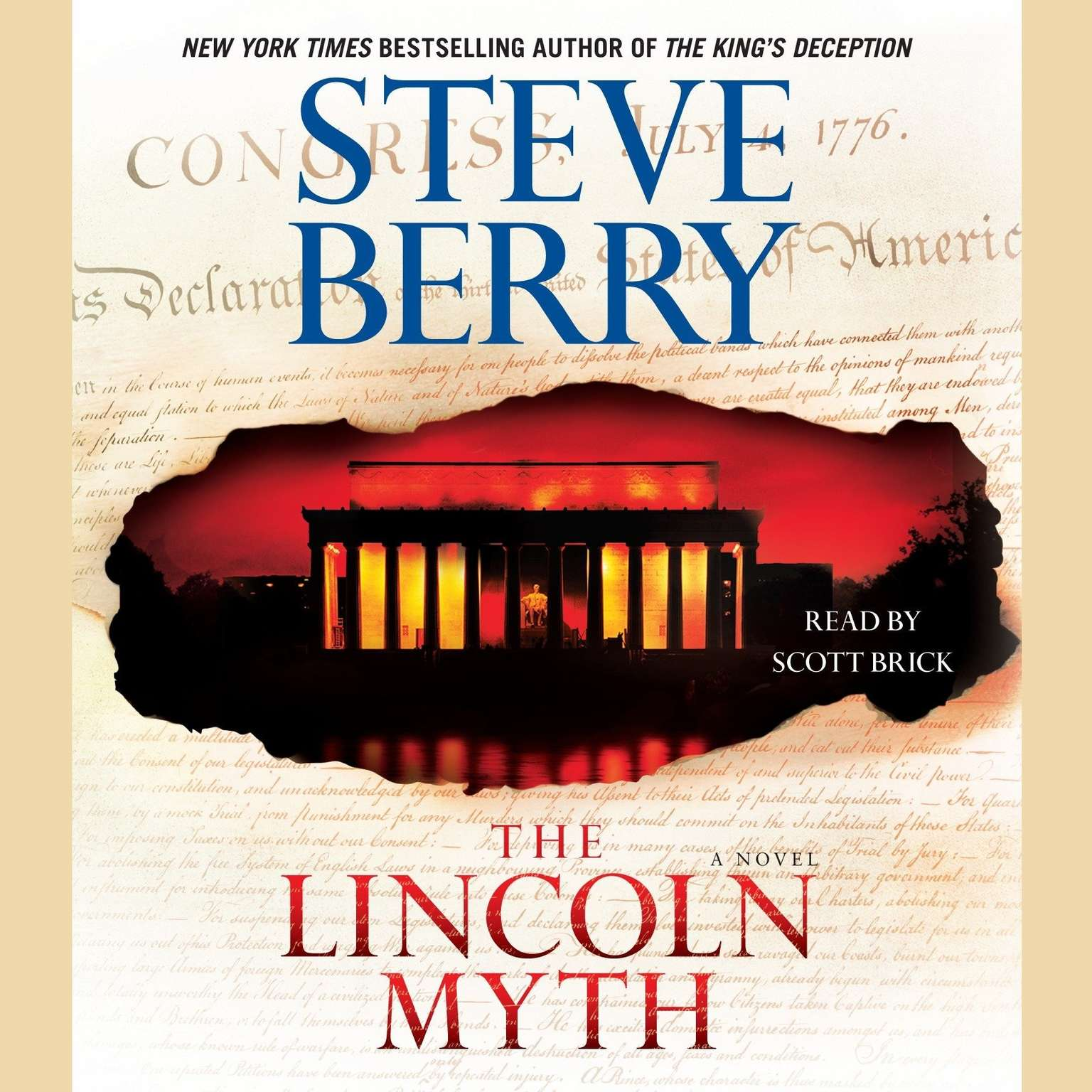 Printable The Lincoln Myth: A Novel Audiobook Cover Art