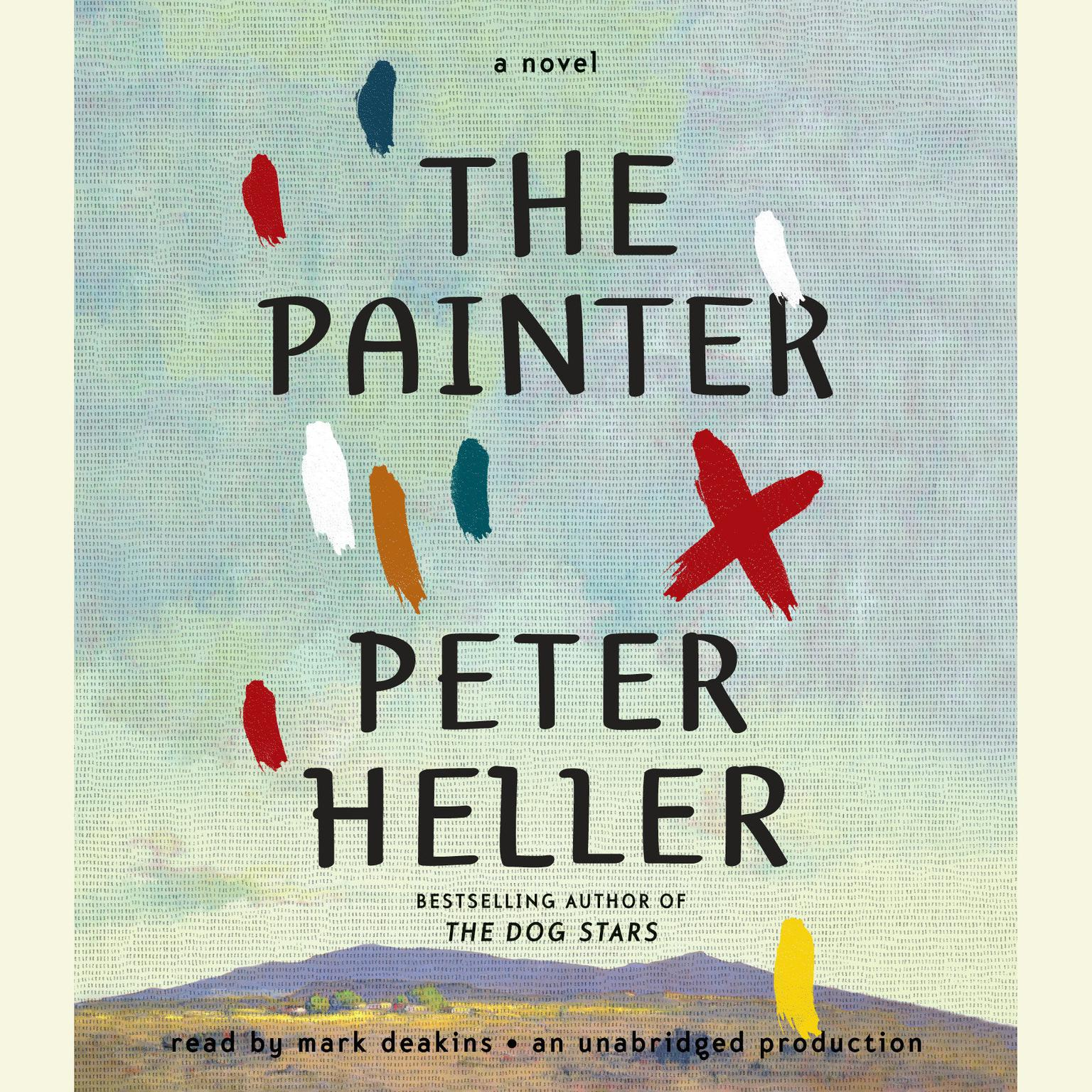 Printable The Painter: A novel Audiobook Cover Art