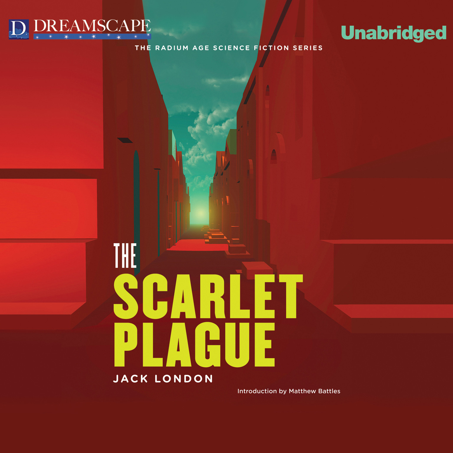 Printable The Scarlet Plague Audiobook Cover Art