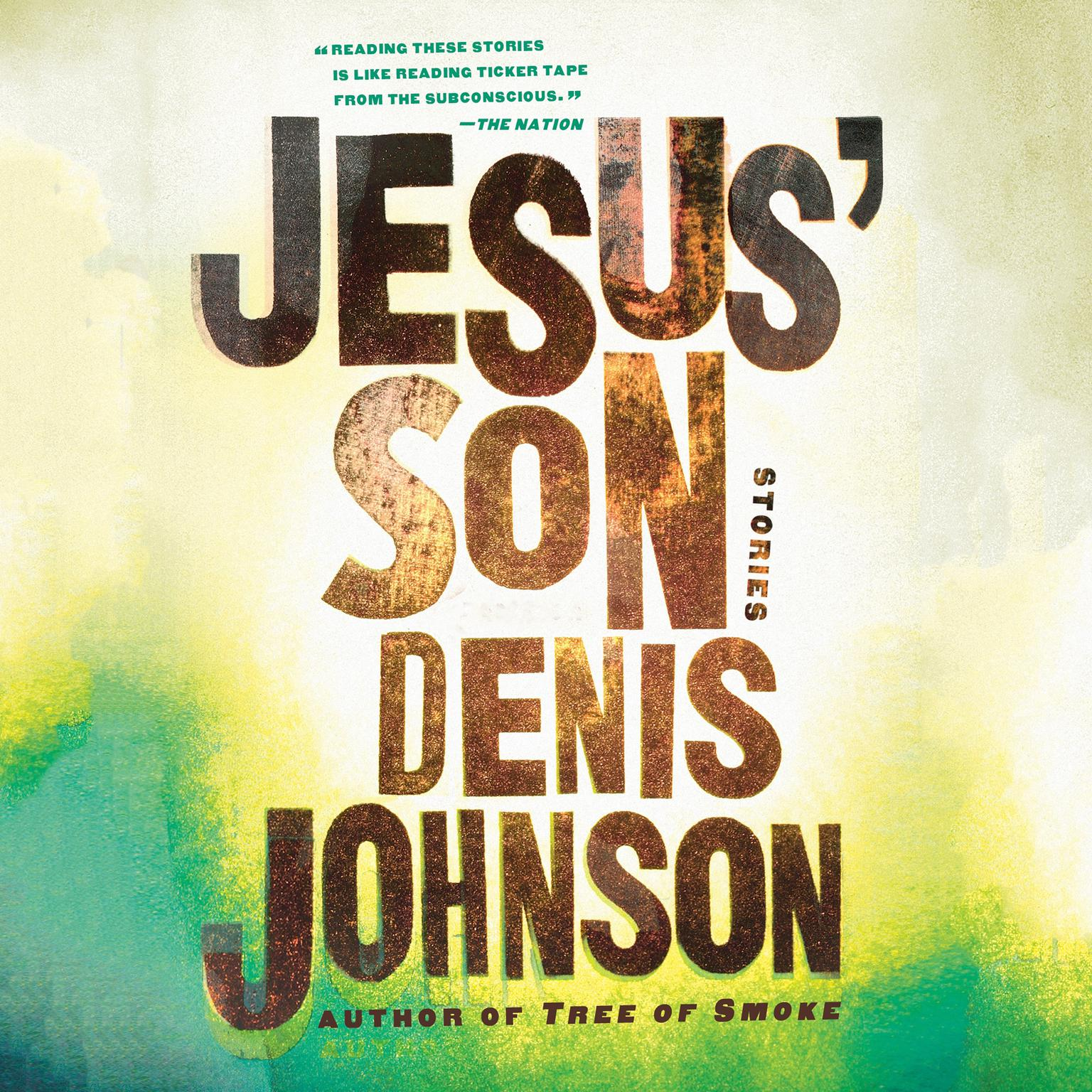 Printable Jesus' Son: Stories Audiobook Cover Art