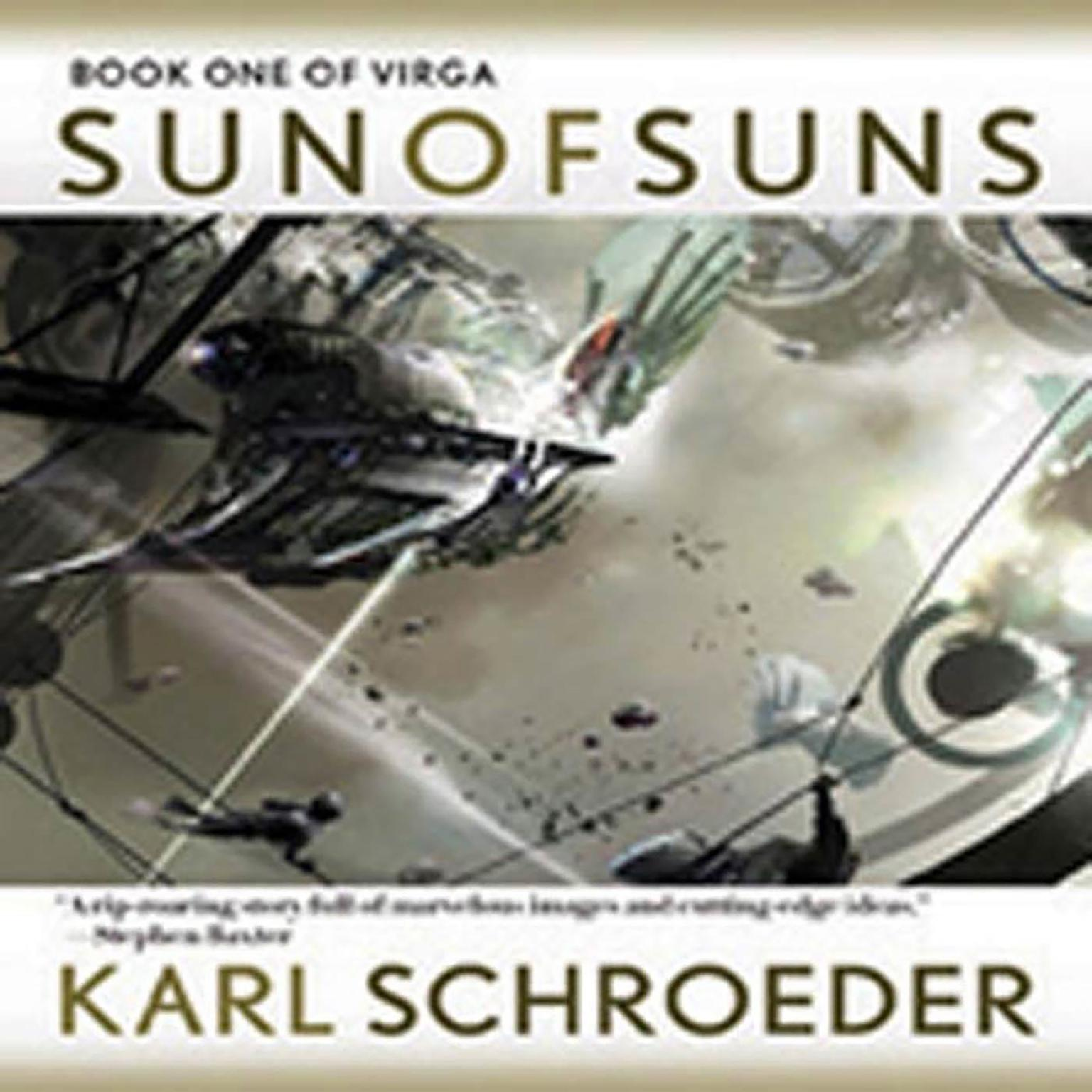 Printable Sun of Suns: Book One of Virga Audiobook Cover Art