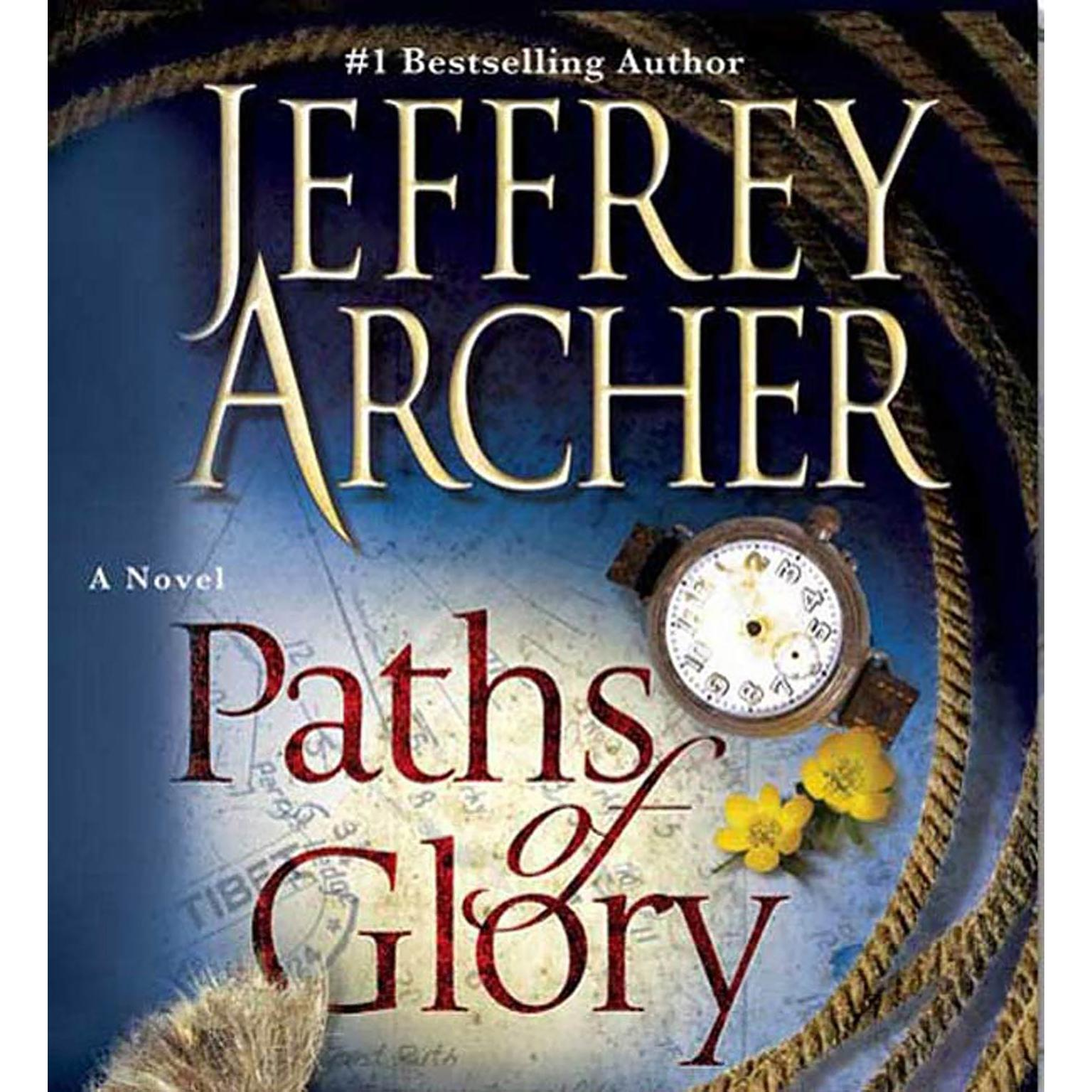 Printable Paths of Glory Audiobook Cover Art