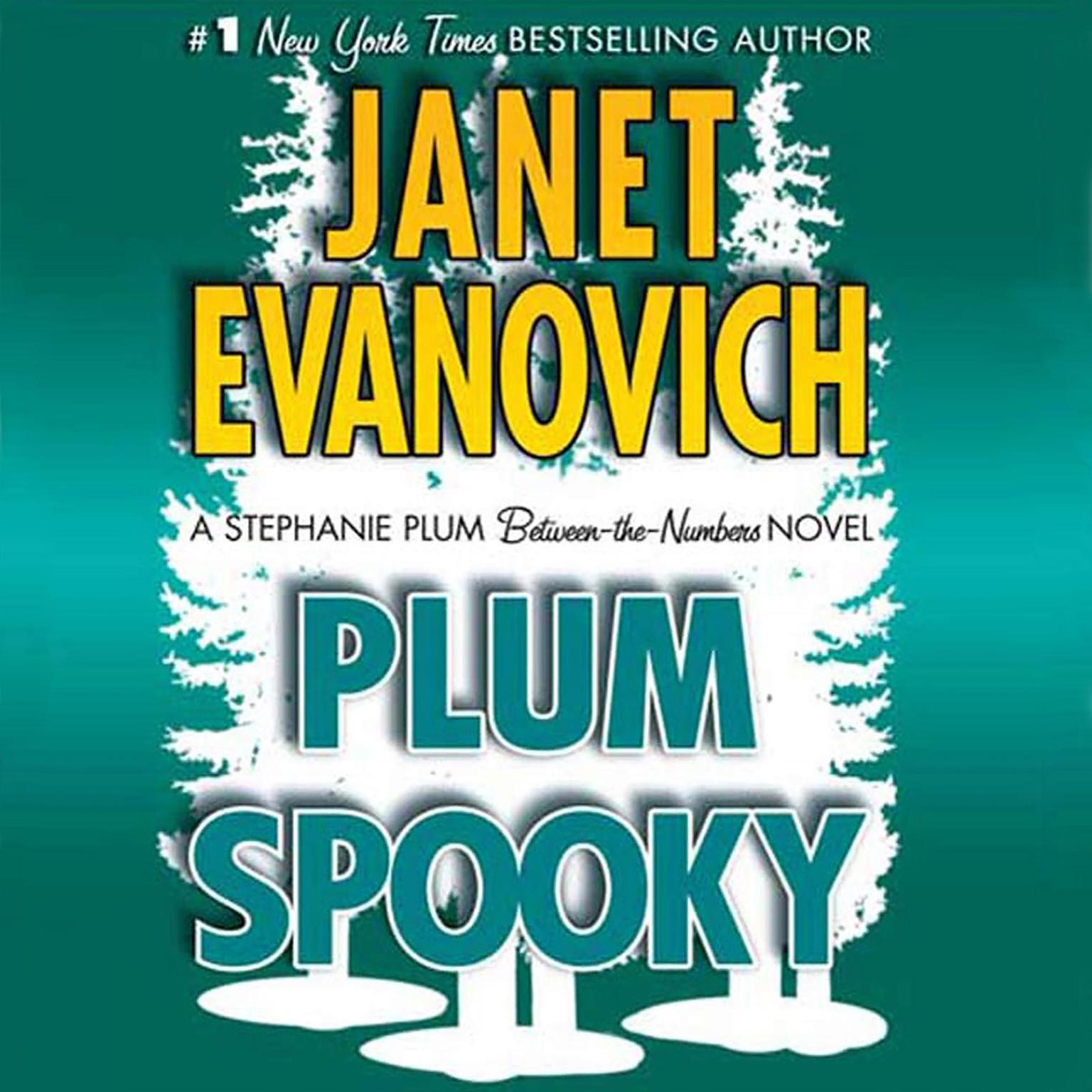 Printable Plum Spooky Audiobook Cover Art