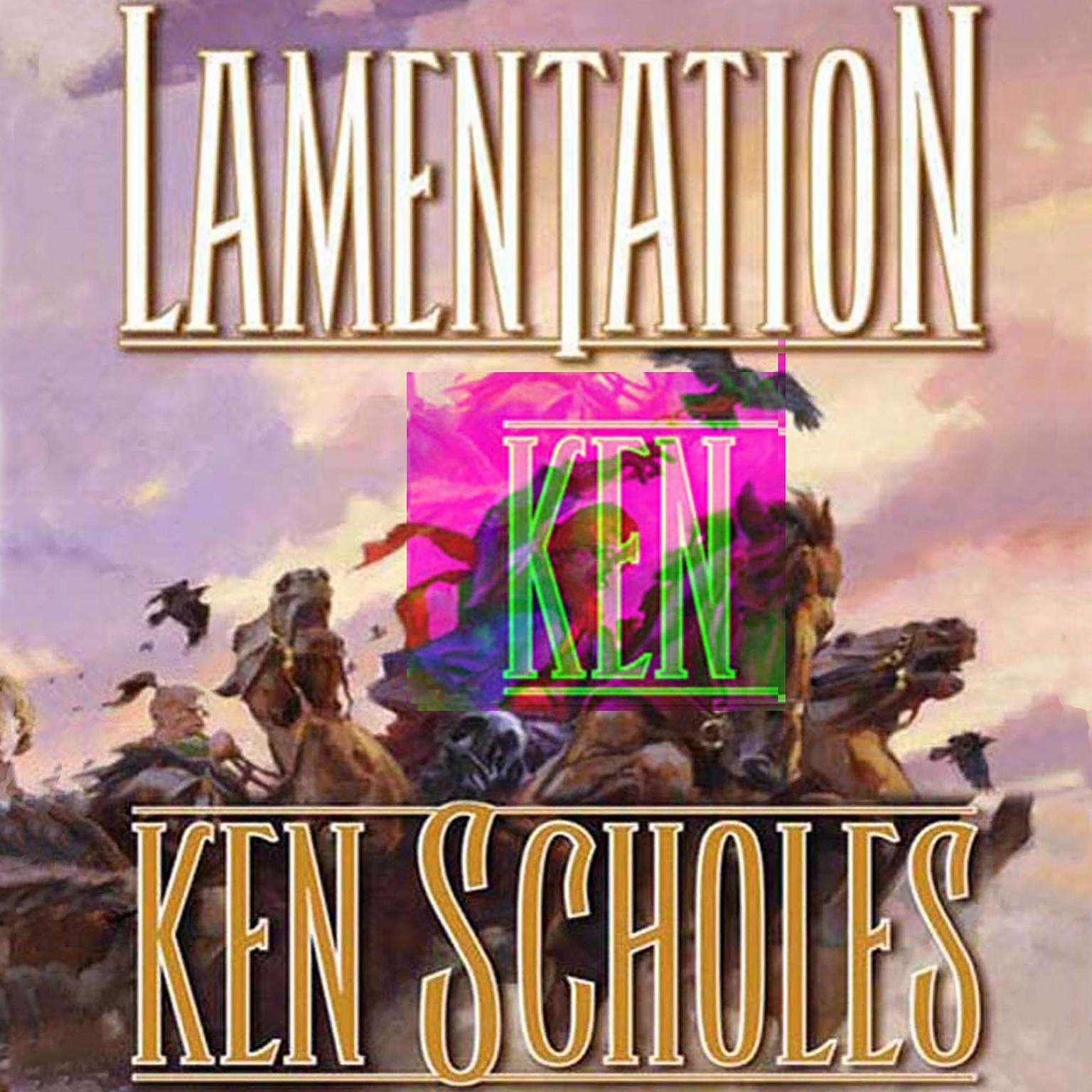 Printable Lamentation Audiobook Cover Art
