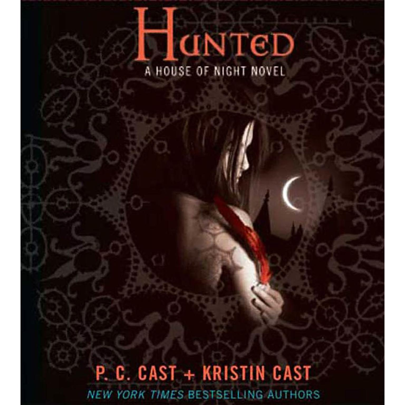 Printable Hunted: A House of Night Novel Audiobook Cover Art