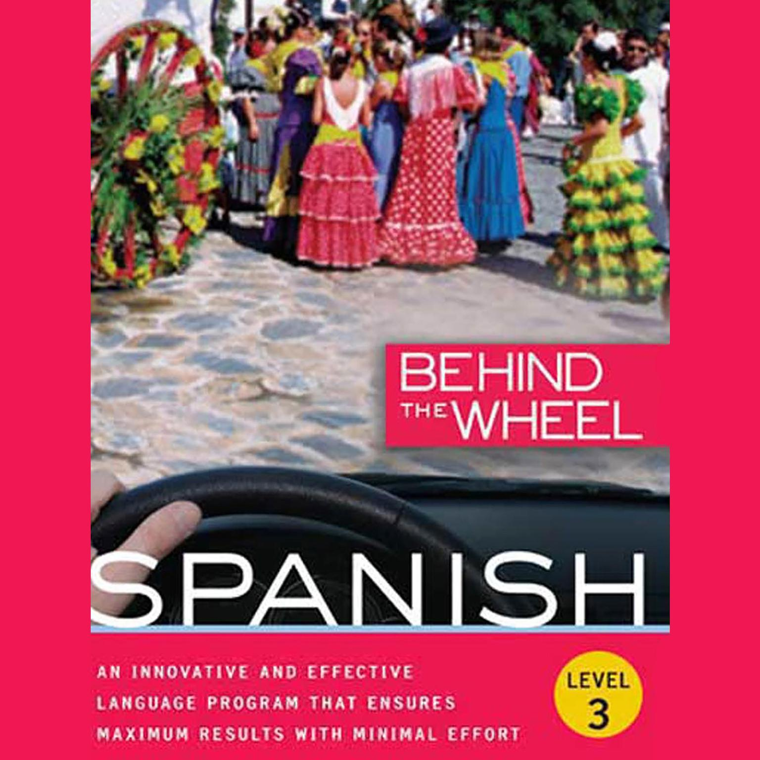 Printable Behind the Wheel - Spanish 3 Audiobook Cover Art