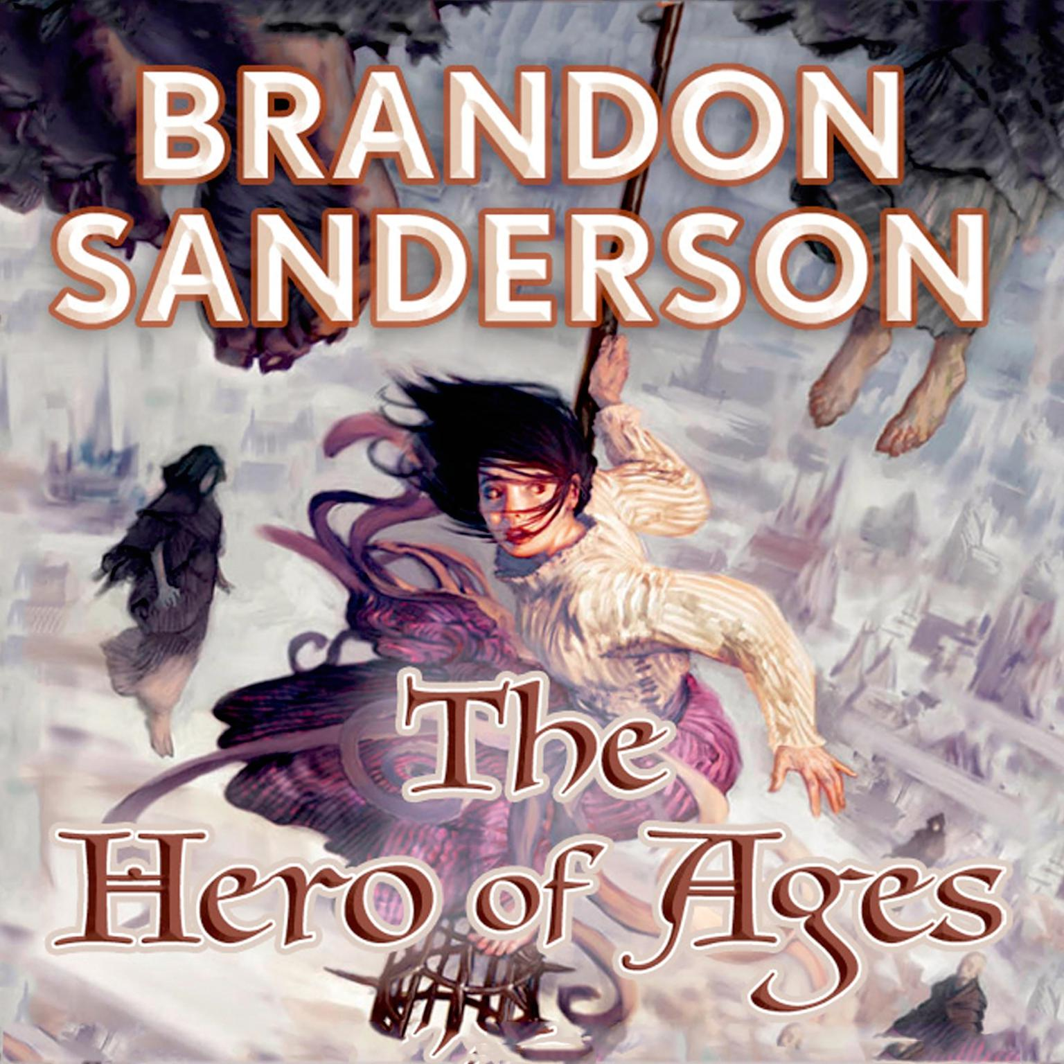 Printable The Hero of Ages: Book Three of Mistborn Audiobook Cover Art