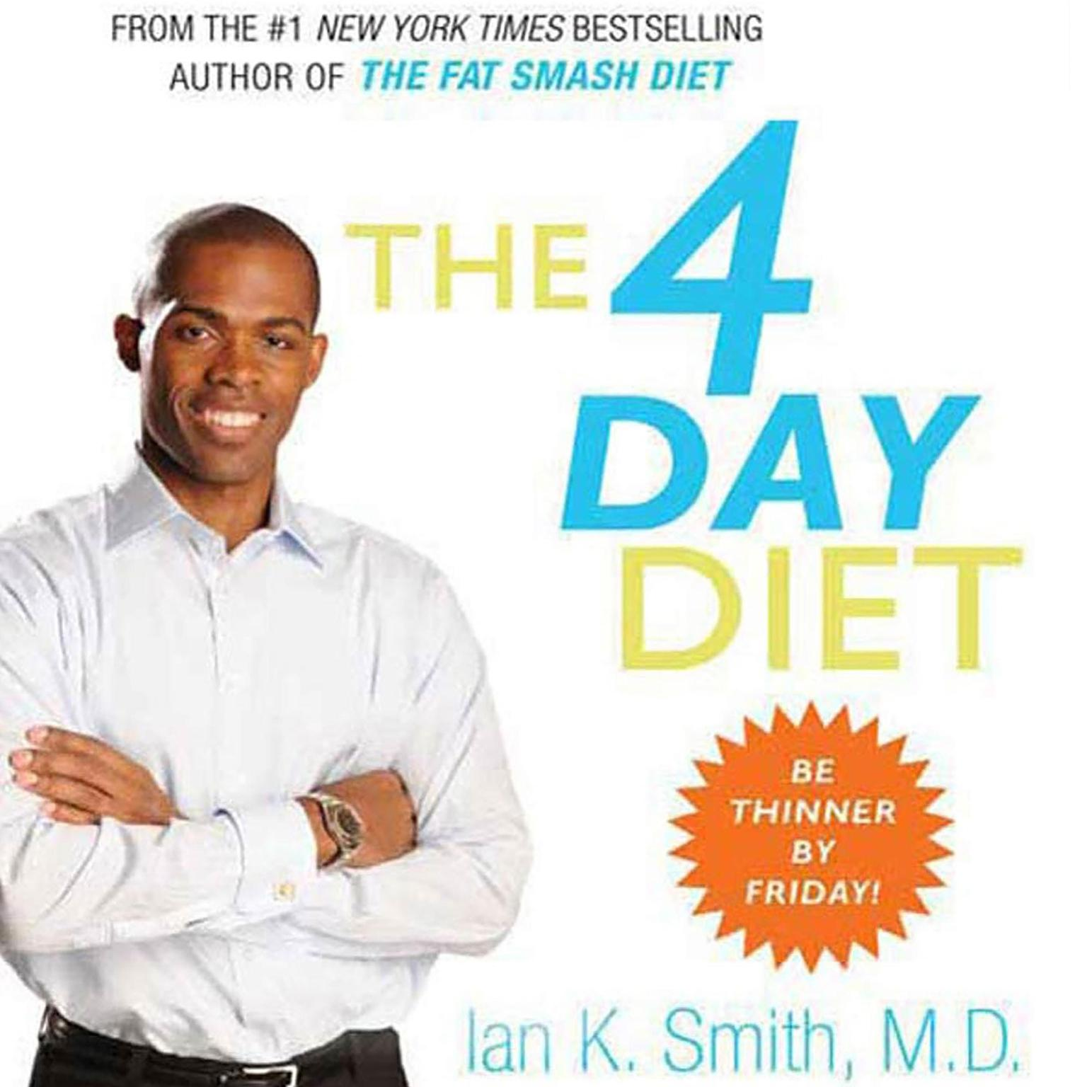 Printable The 4 Day Diet Audiobook Cover Art