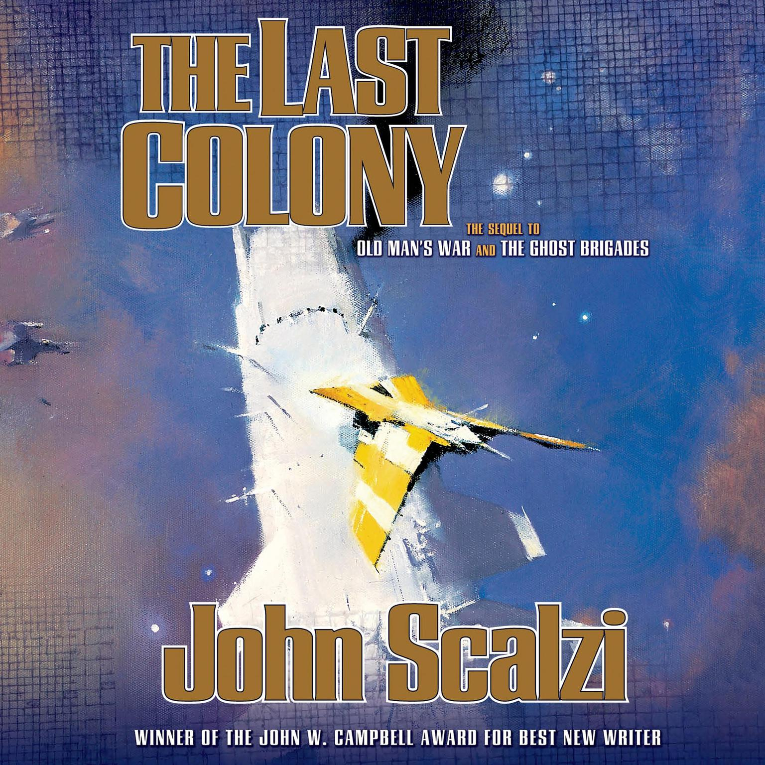 Printable The Last Colony Audiobook Cover Art