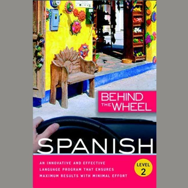 Printable Behind the Wheel - Spanish 2 Audiobook Cover Art