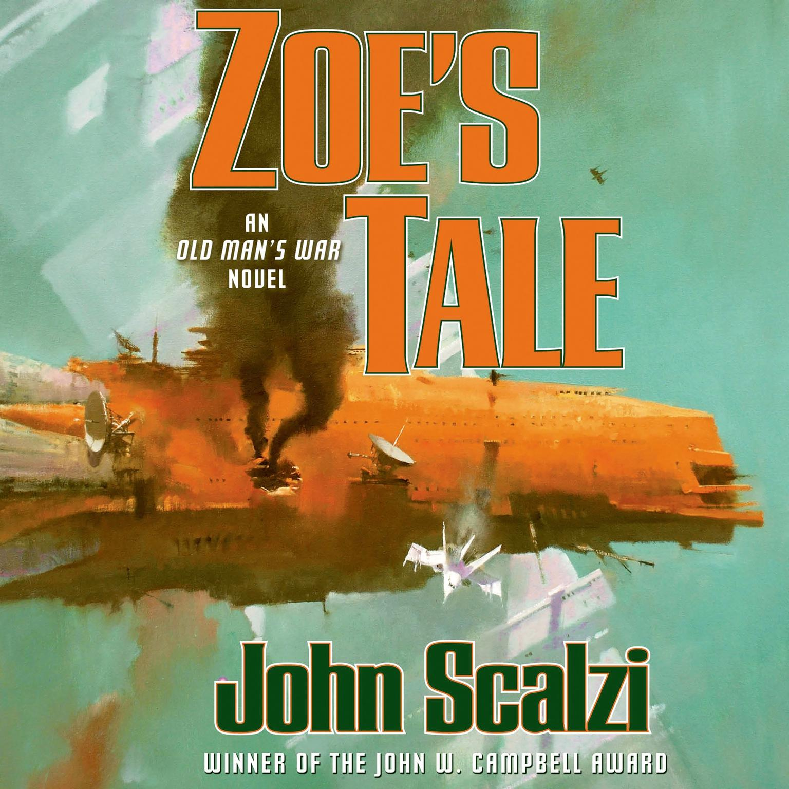 Printable Zoe's Tale: An Old Man's War Novel Audiobook Cover Art